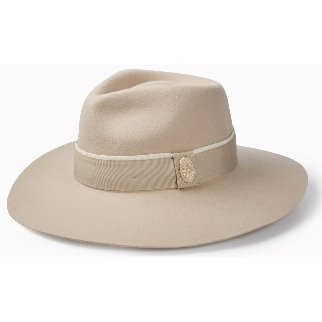 Pebble Hicks & Brown Womens Oxley Fedora