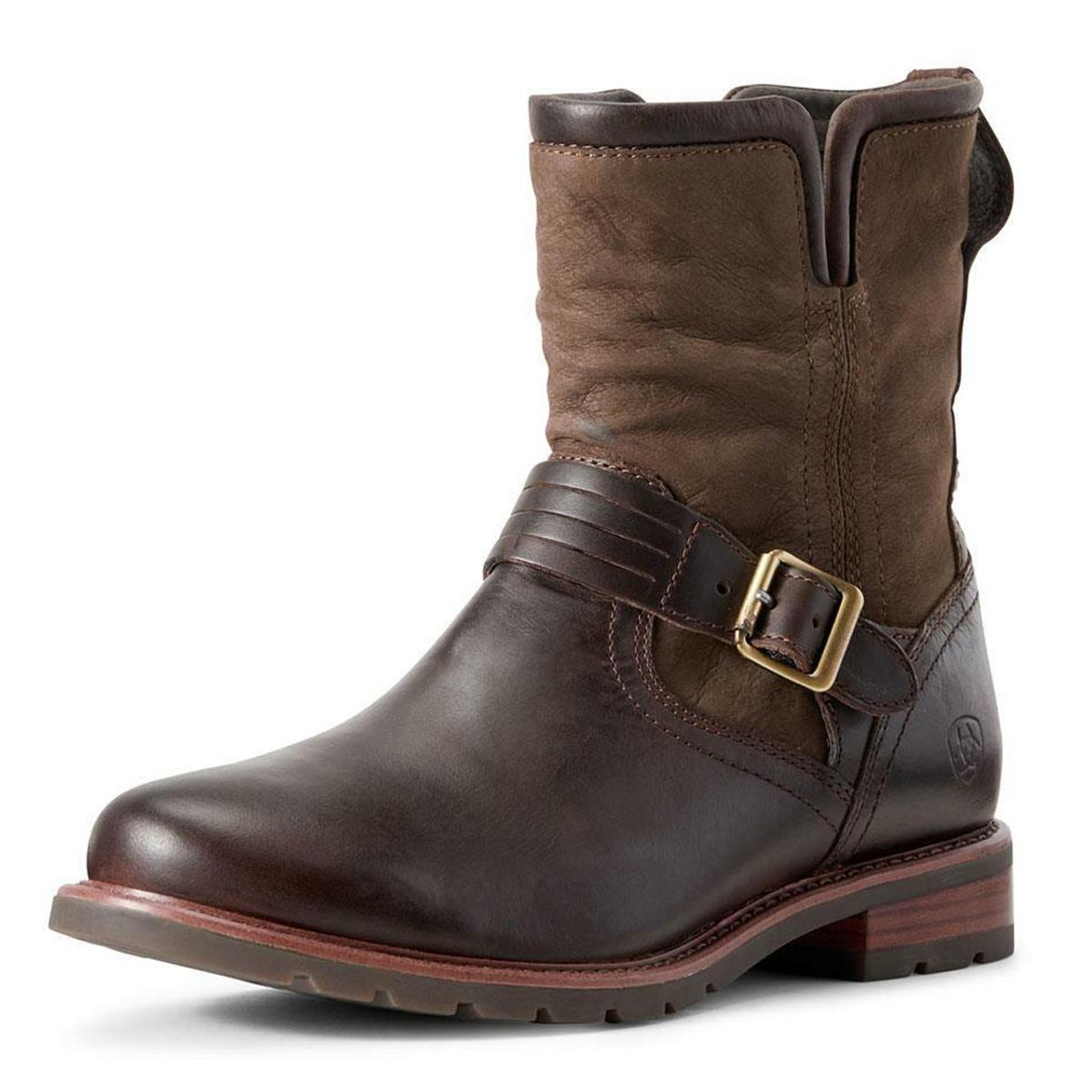 Chocolate Dark Olive Ariat Womens Savannah H2O Boots