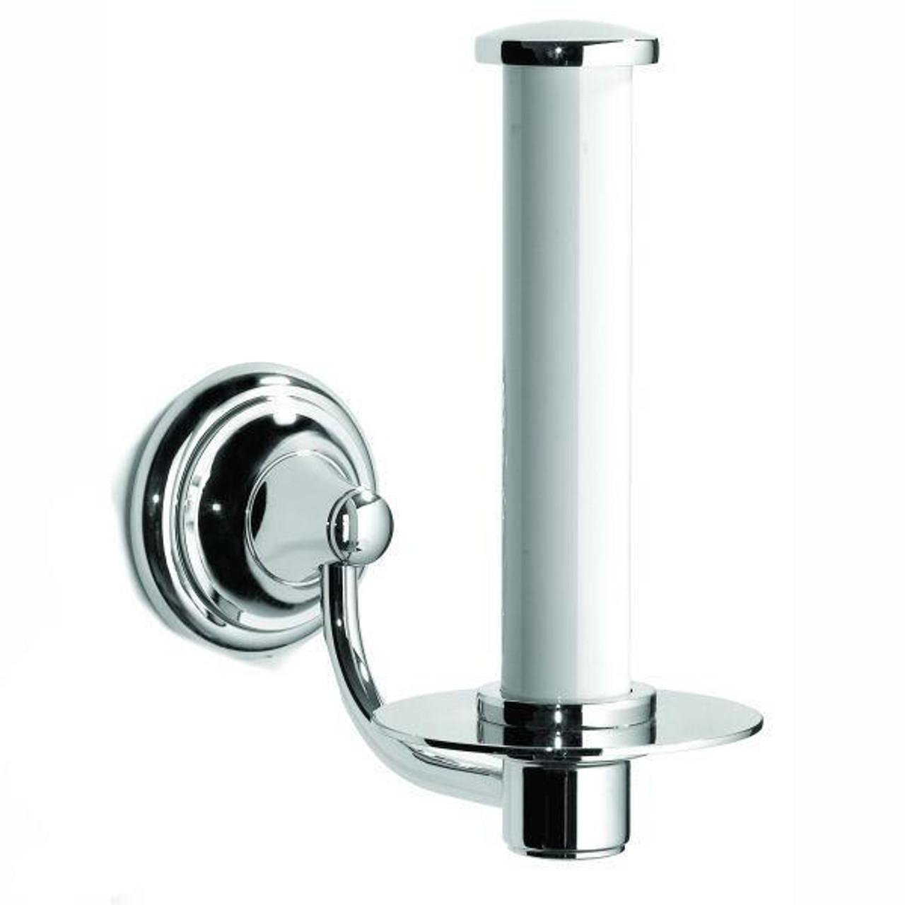 Chrome Plated Samuel Heath Fairfield Spare Toilet Roll Holder N9541