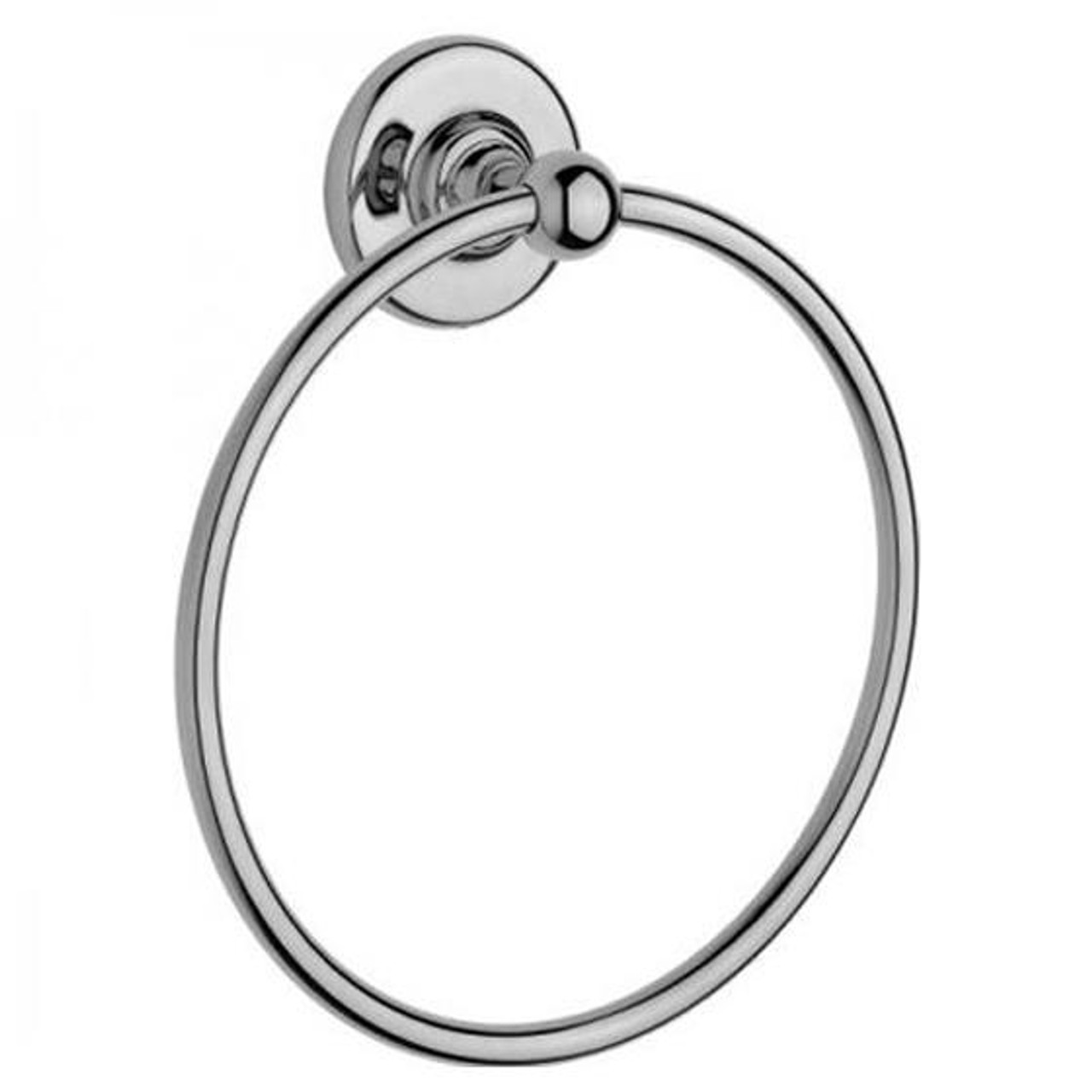 Chrome Plated Samuel Heath Antique Towel Ring N4398