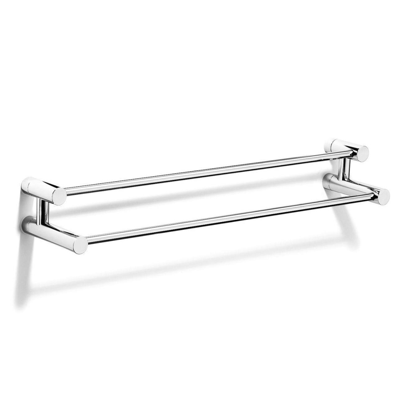 Chrome Plated Samuel Heath Xenon Double Towel Rail N5301