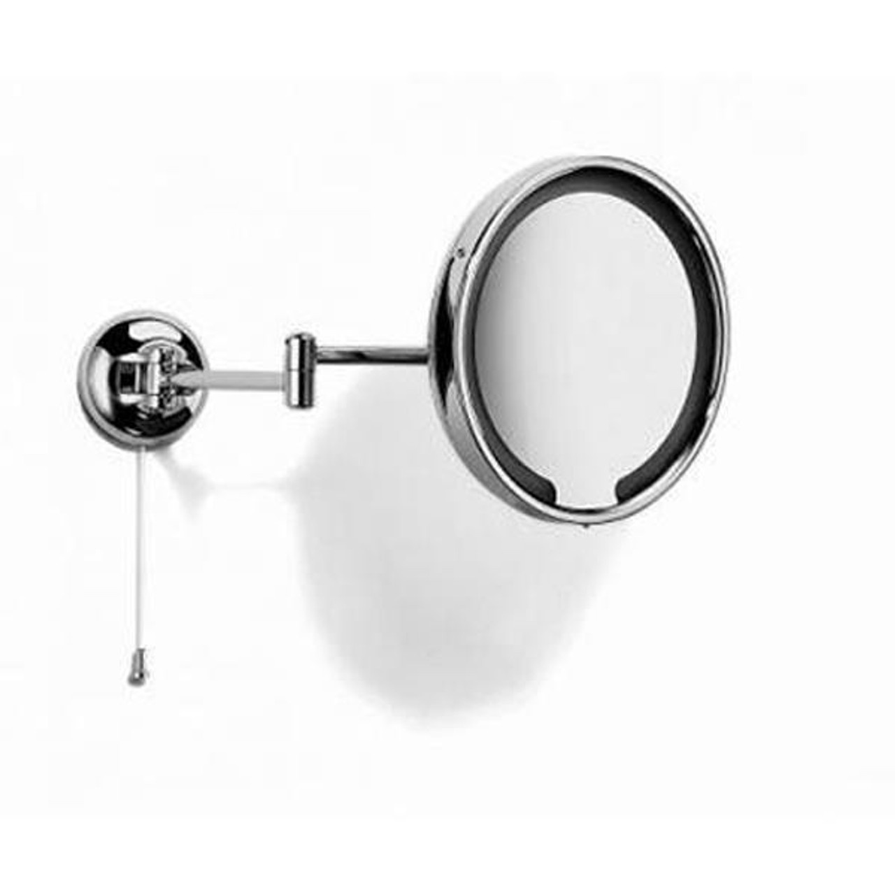 Chrome Plated Samuel Heath Novis Double Arm LED Illuminated Magnifying Pivotal Mirror N510-3