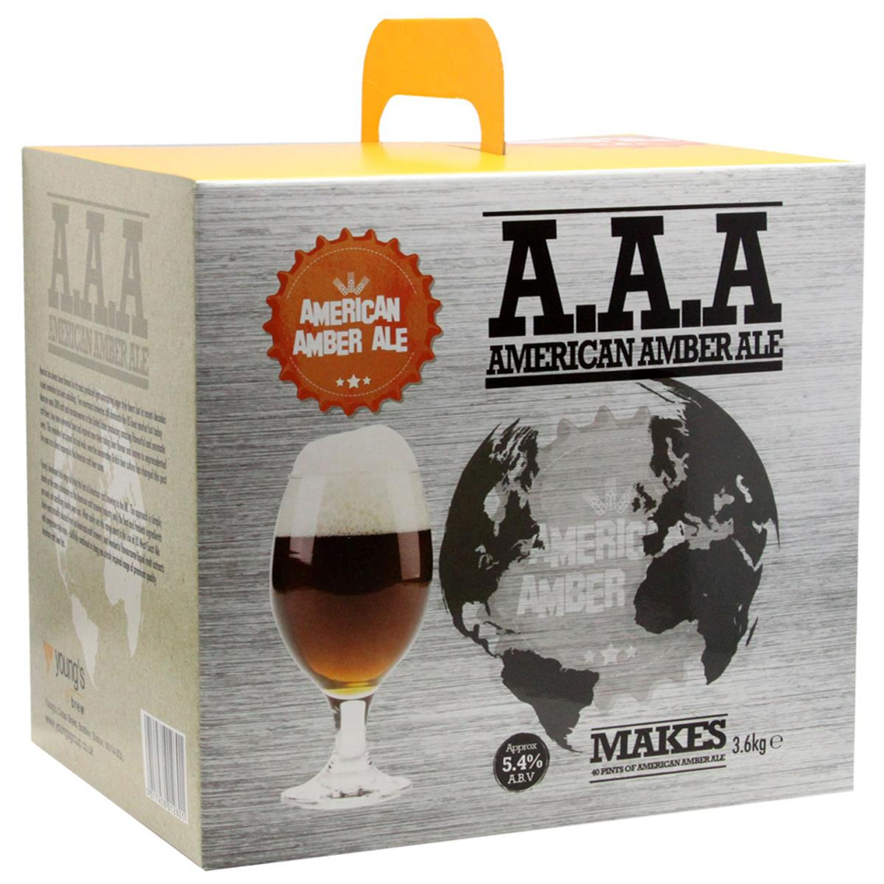 Youngs American Amber Ale 40 Pint Kit