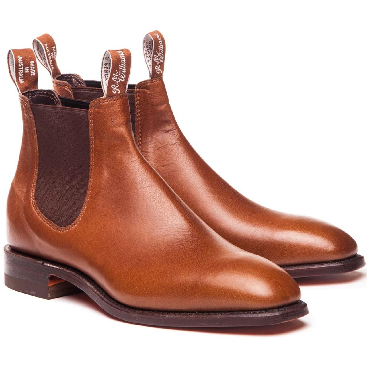 R.M. Williams Mens Kangaroo Comfort Craftsman Boots