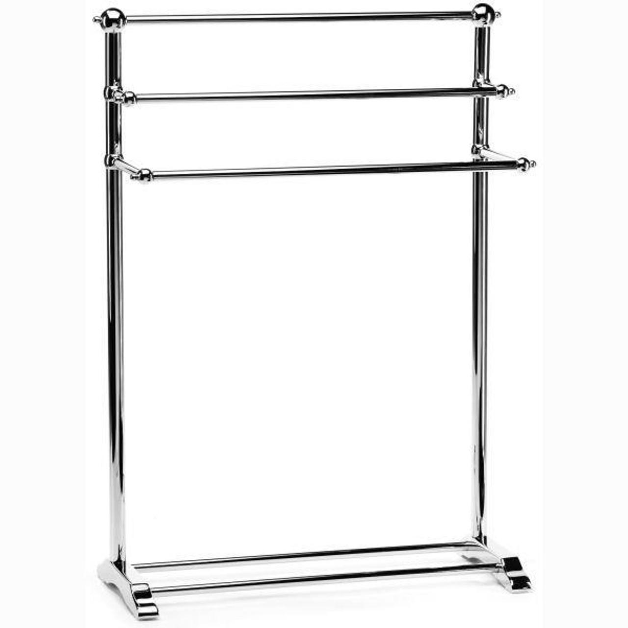Chrome Plated Samuel Heath Freestanding Towel Stand L908