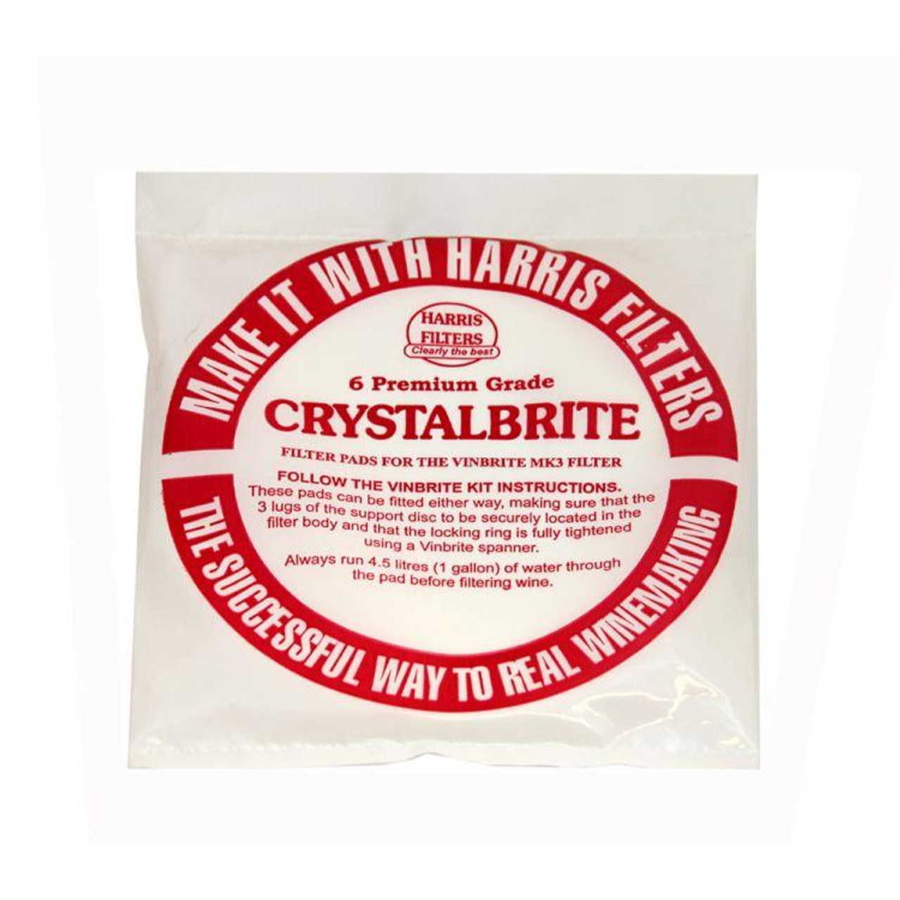 Youngs 5 HF Crystalbrite Pads