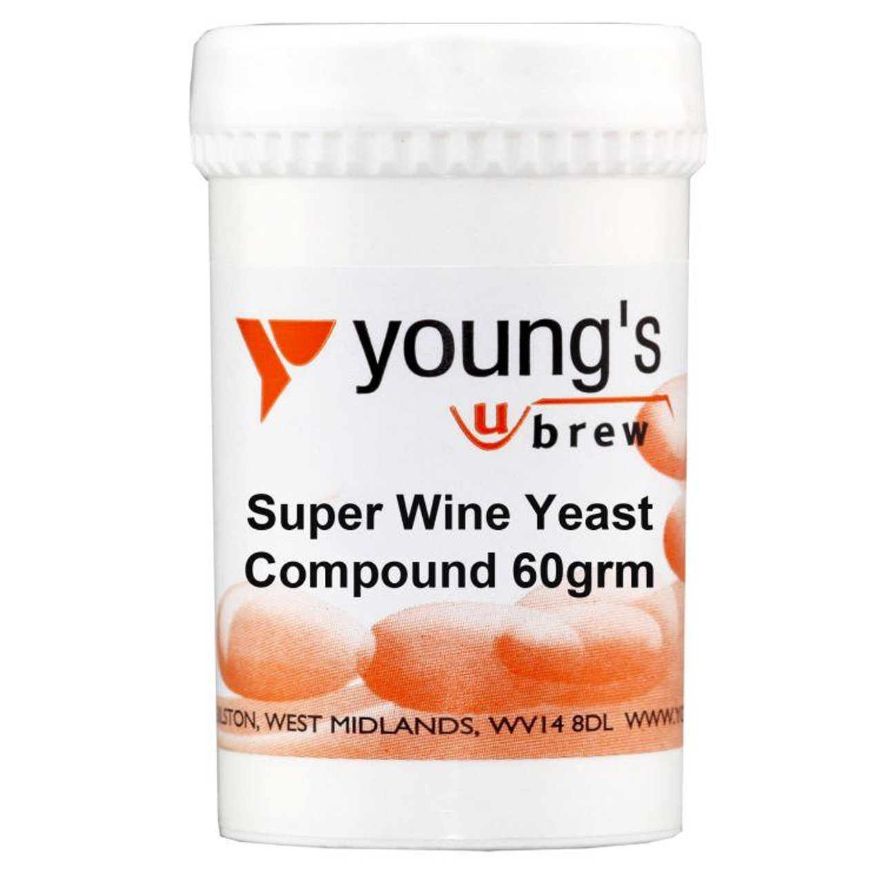 Youngs 60g Super Wine Yeast Compound