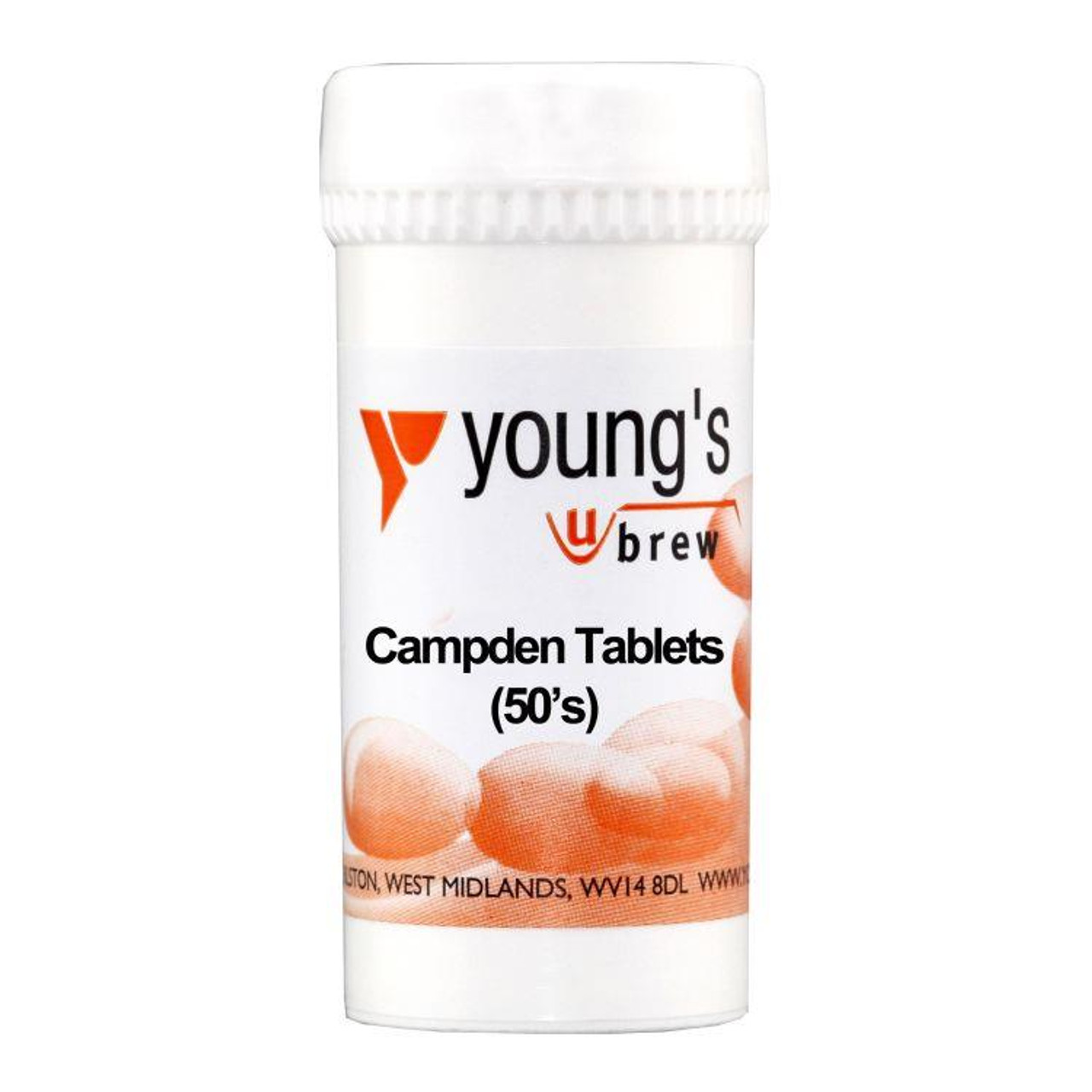 Youngs 50 Campden Tablets