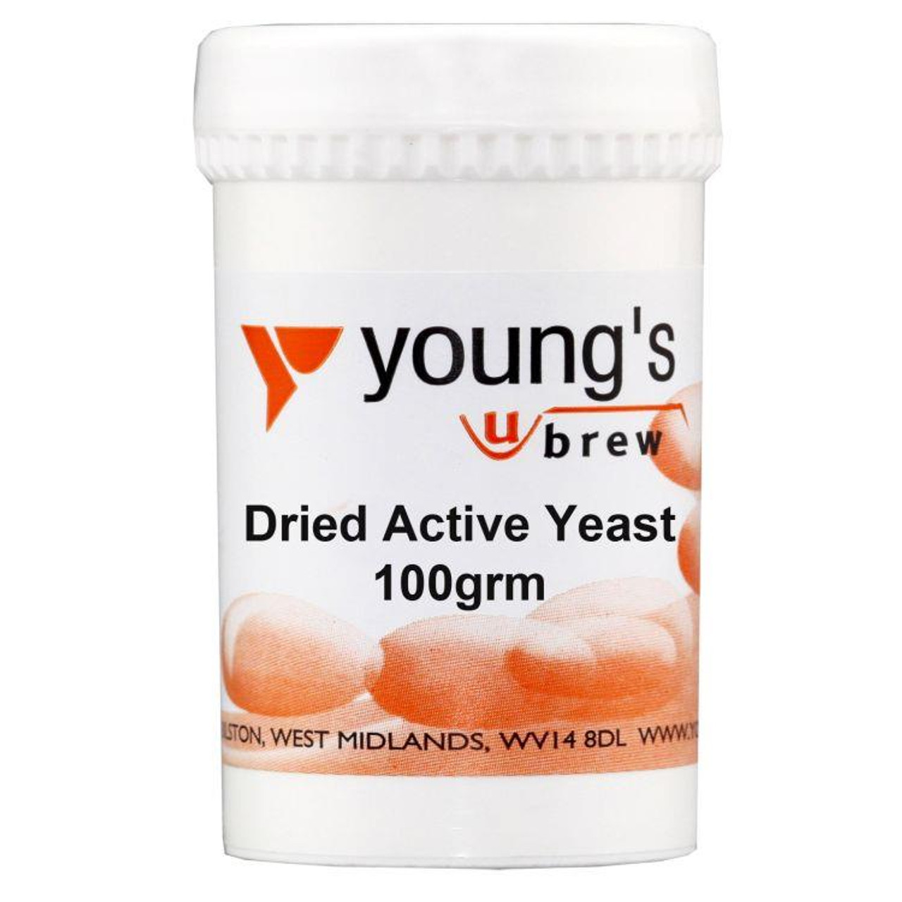 Youngs 100g Dried Active Yeast
