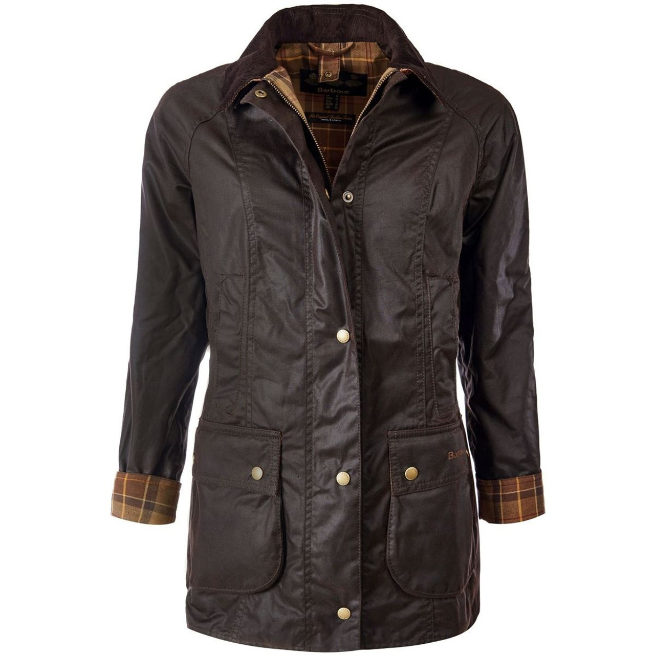 Rustic Barbour Womens Beadnell Wax Jacket