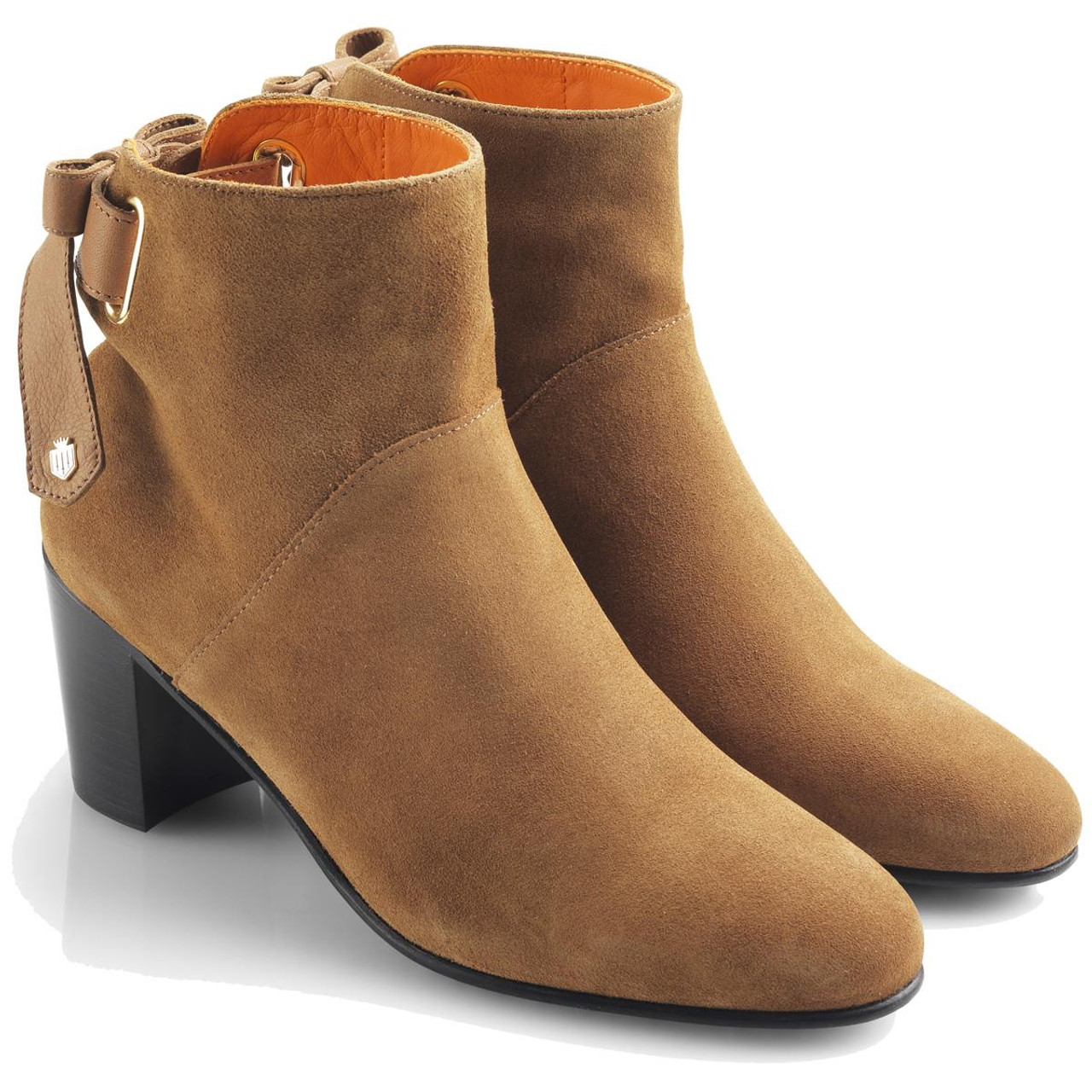 Tan Fairfax & Favor Womens Blair Ankle Boots