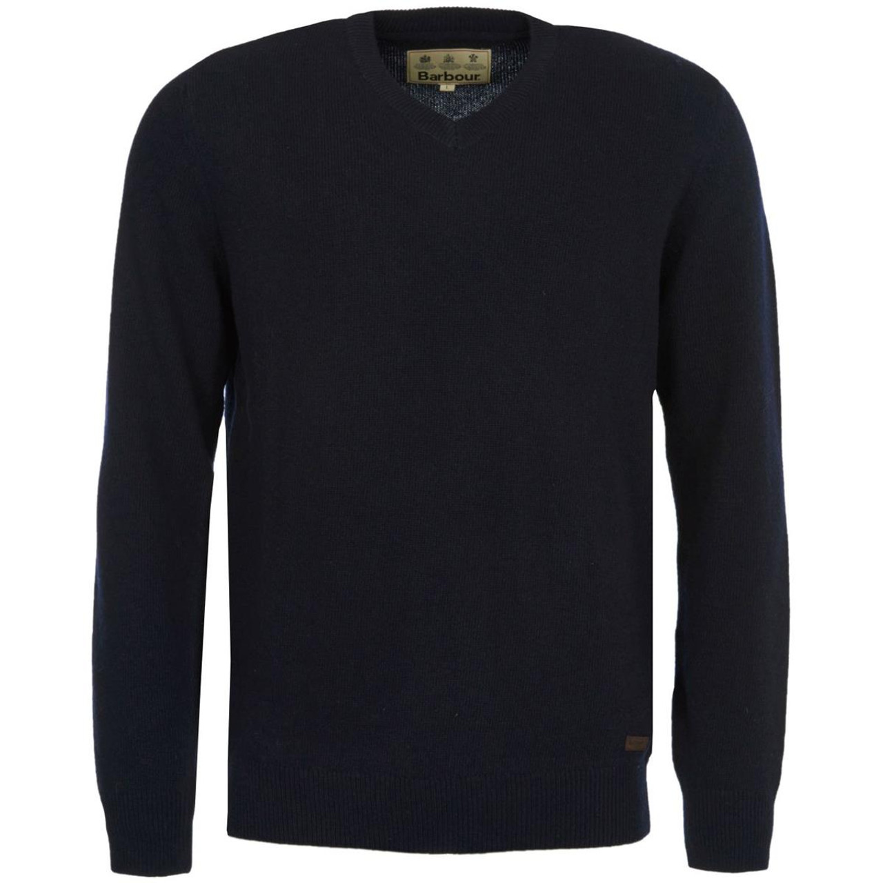 Barbour Mens Nelson Essential V Neck Jumper