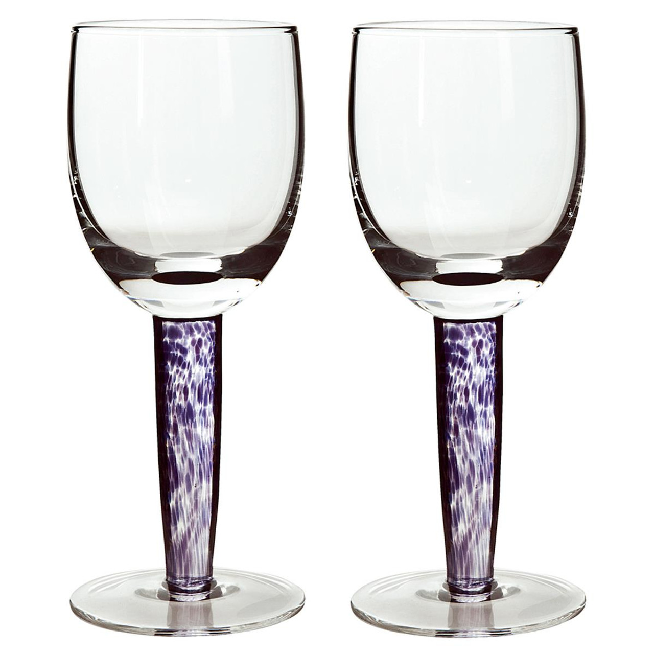 Denby Amethyst White Wine Glass Pack Of 2