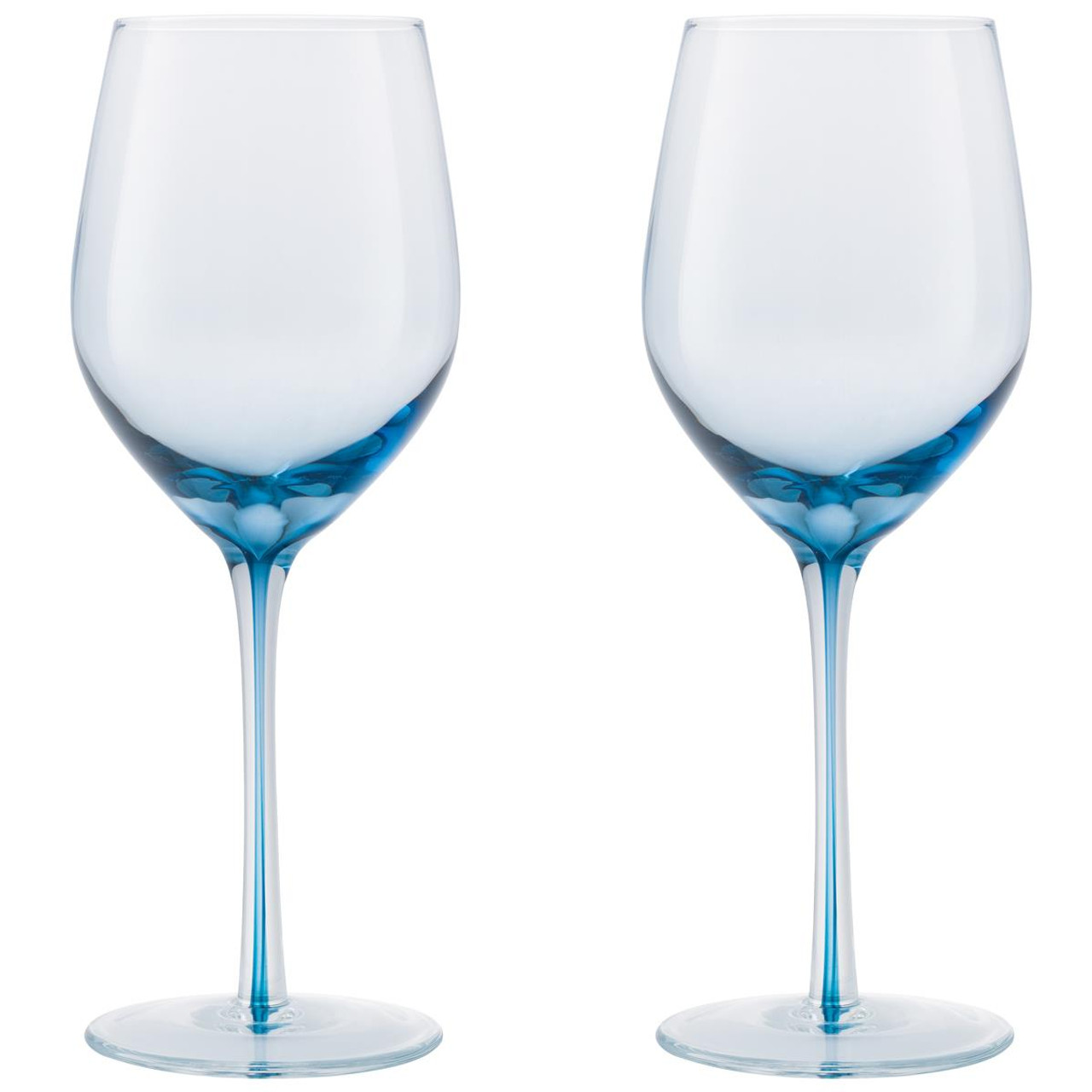 Denby Colours Red Wine Glass (Blue) Set Of 2