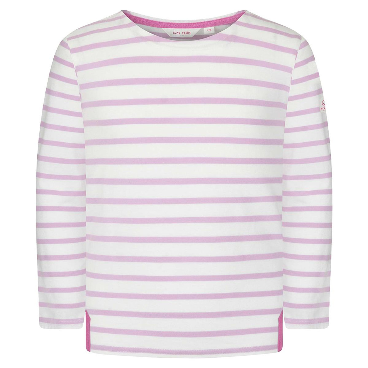 Chalky Pink Lazy Jacks Long Sleeve Breton