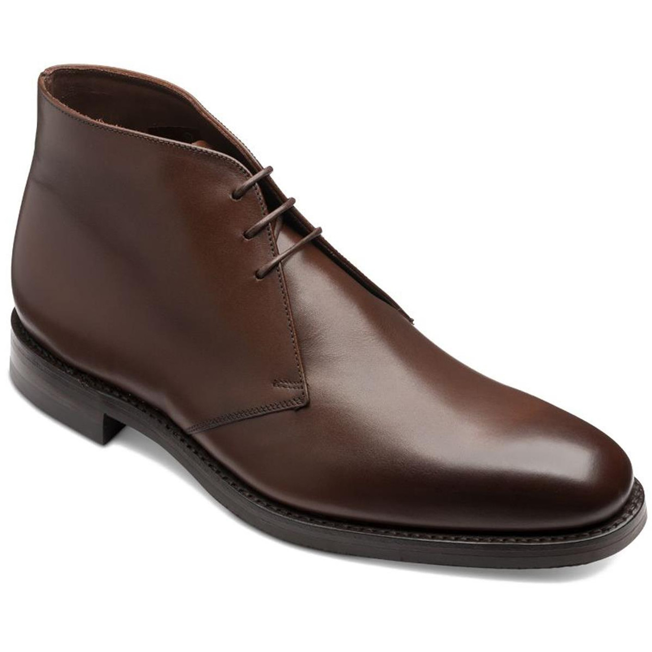 Dark Brown Loake Mens Pimlico Chukka Boots