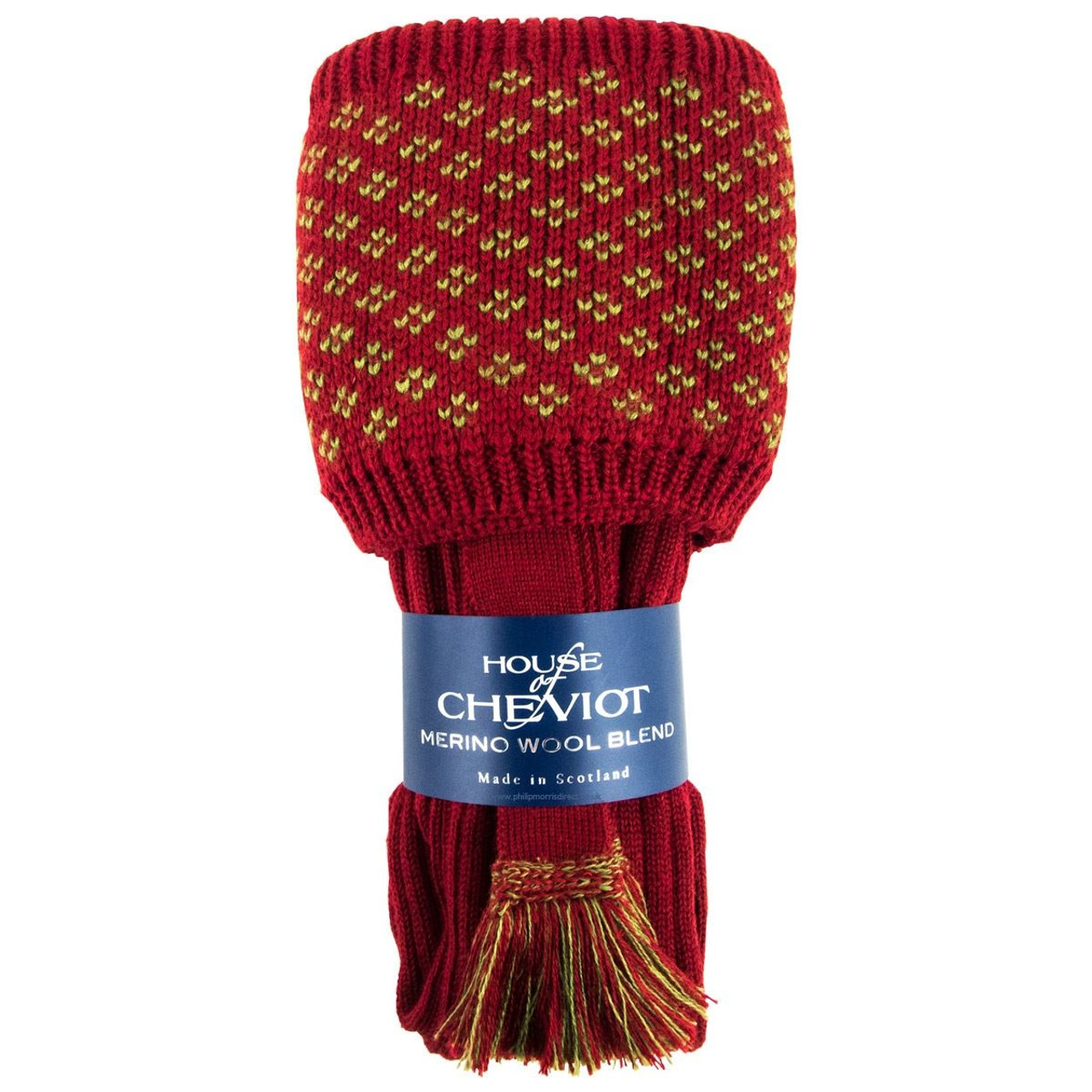House of Cheviot Boughton Pattern Top Sock Set