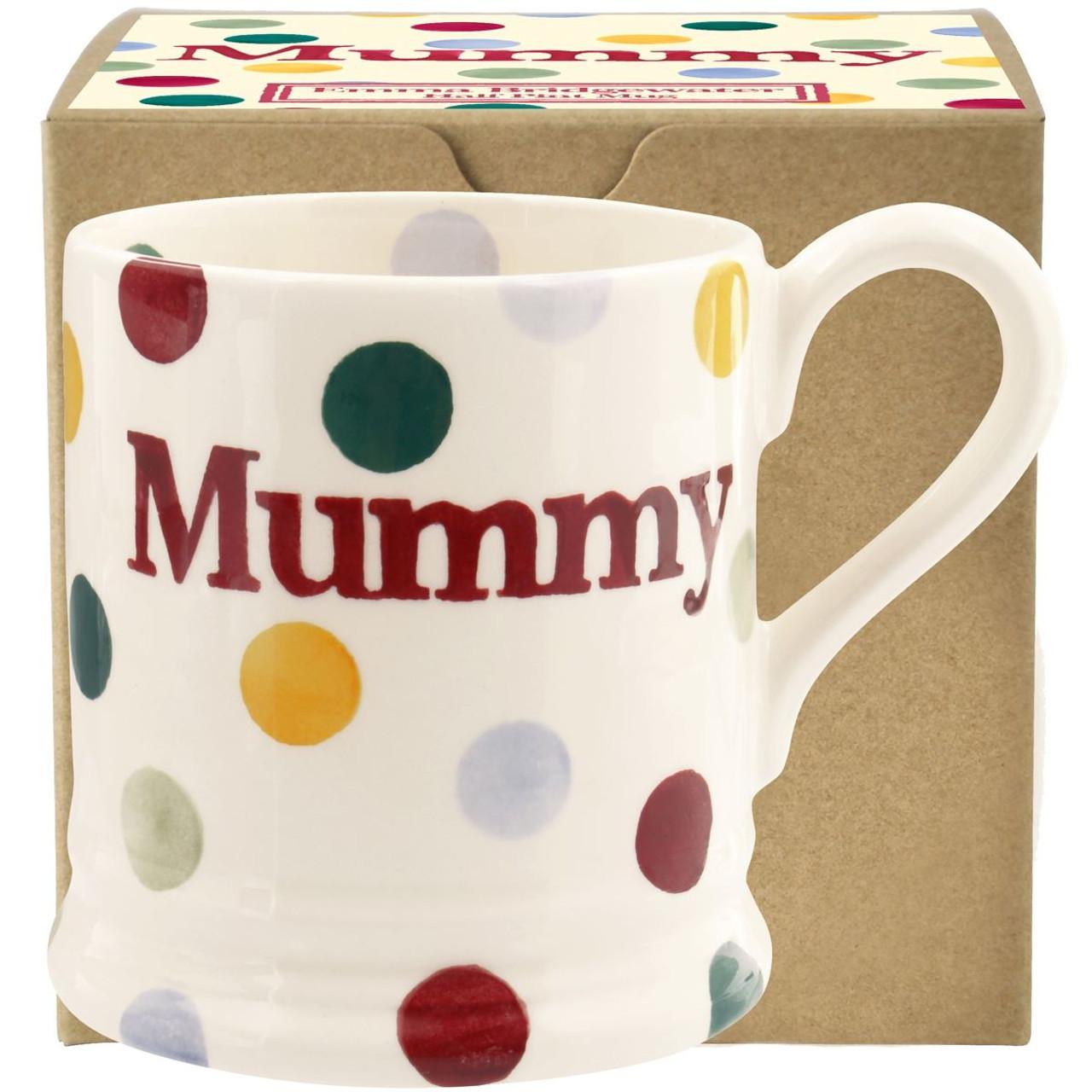 Emma Bridgewater Polka Dot Mummy Half Pint Mug