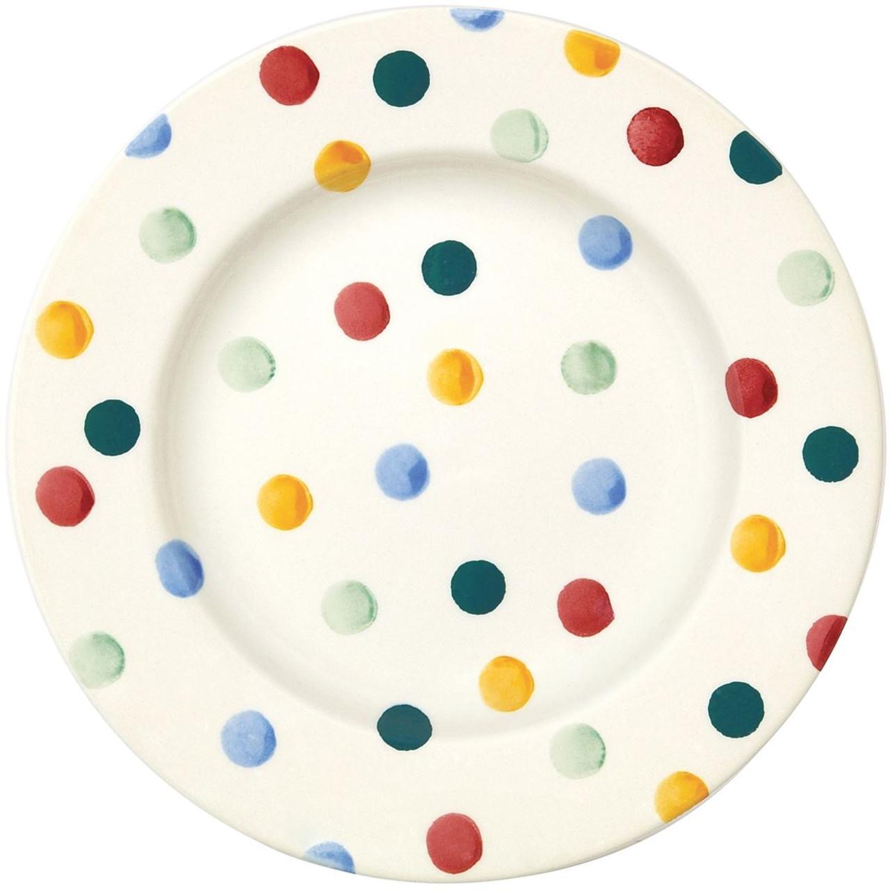 Emma Bridgewater Polka Dot 8.5 Inch Plate