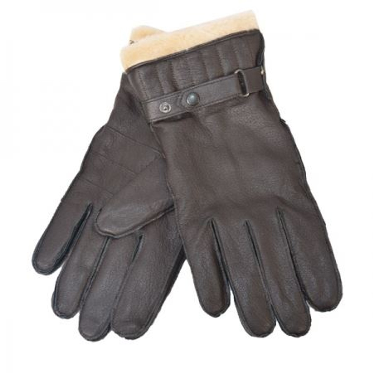 Barbour Mens Leather Utility Glove