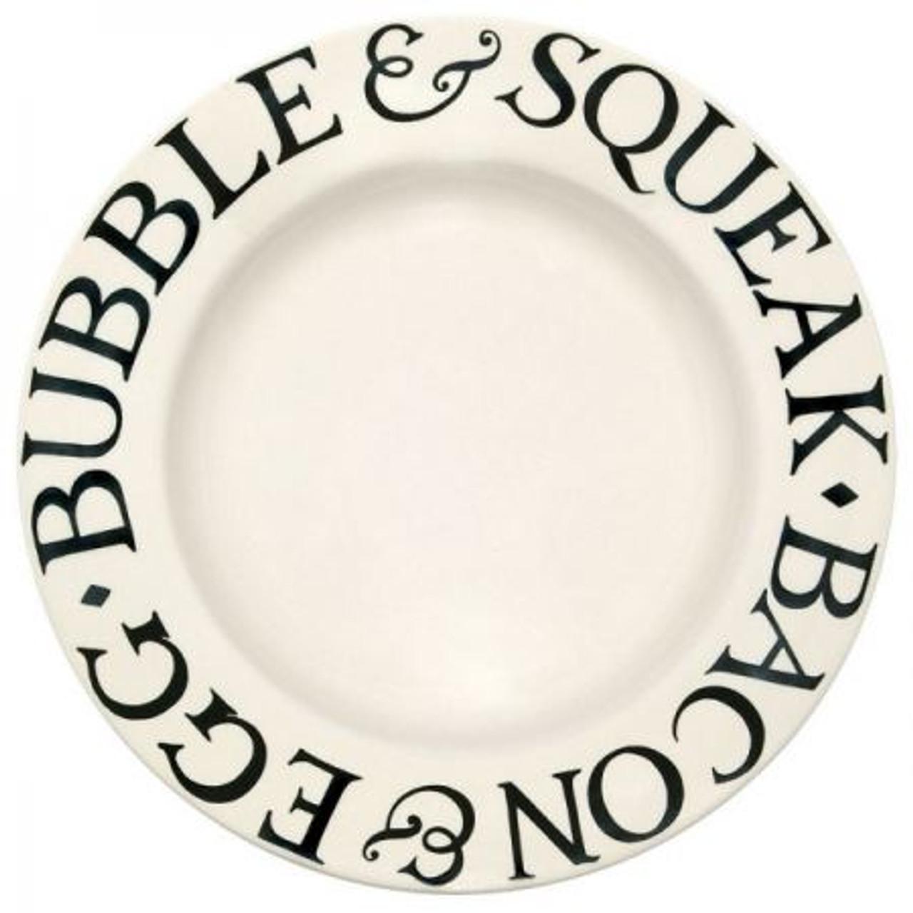 Emma Bridgewater Black Toast Dinner Plate