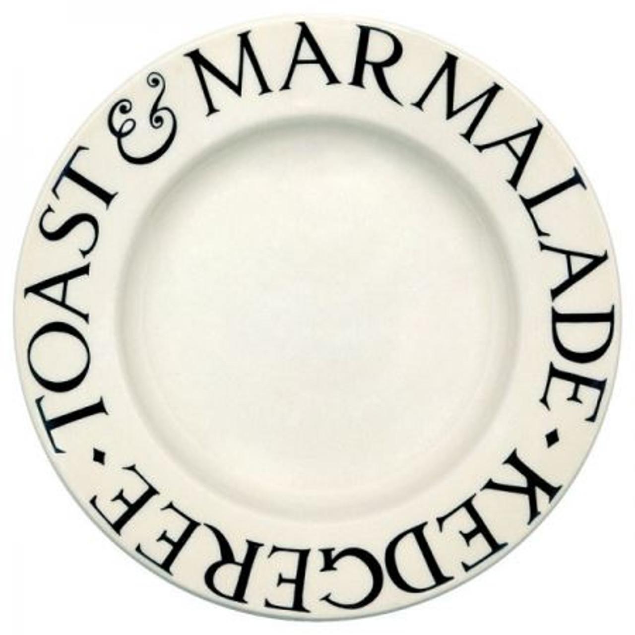 Emma Bridgewater Black Toast Side Plate