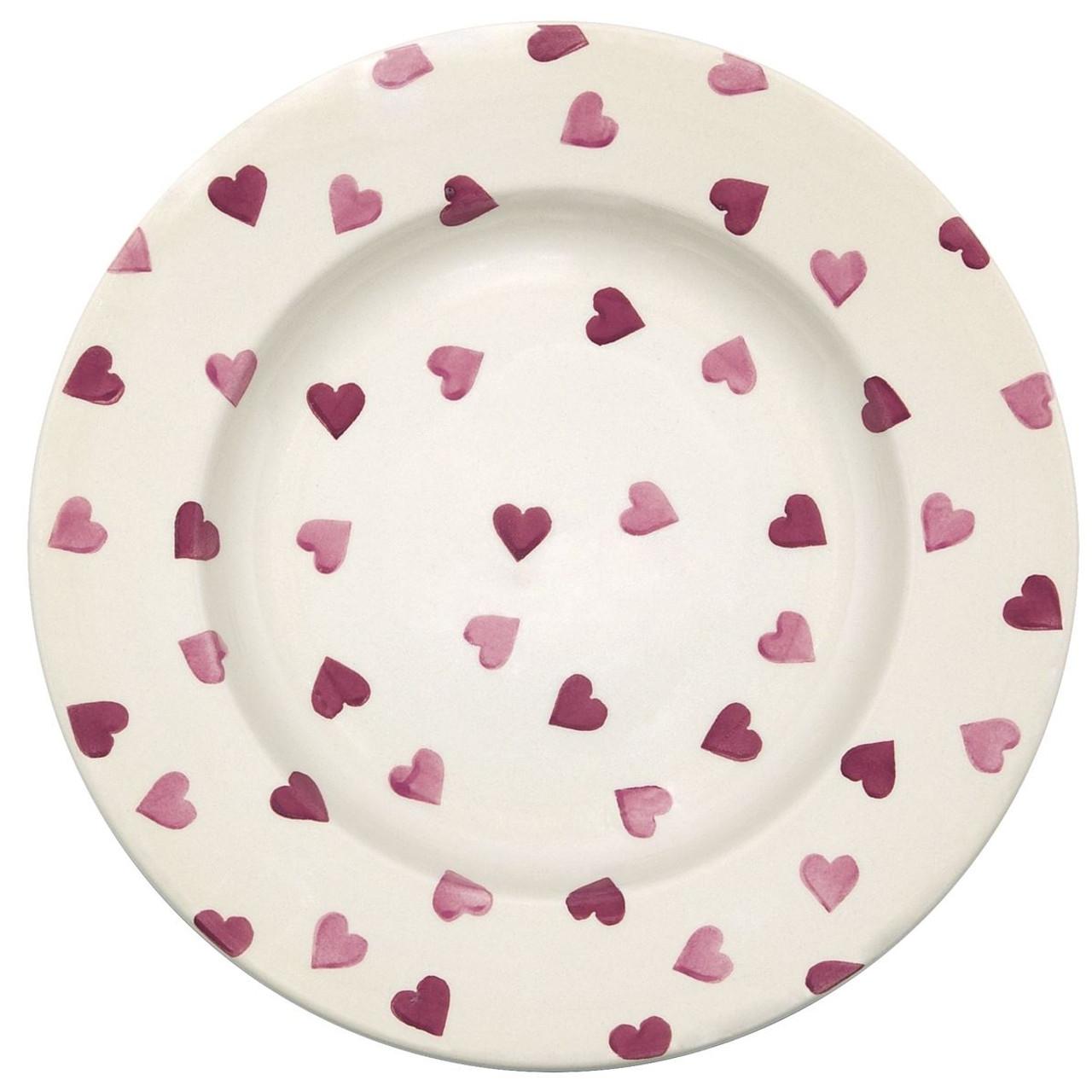 Emma Bridgewater Pink Hearts 10.5 Inch Plate