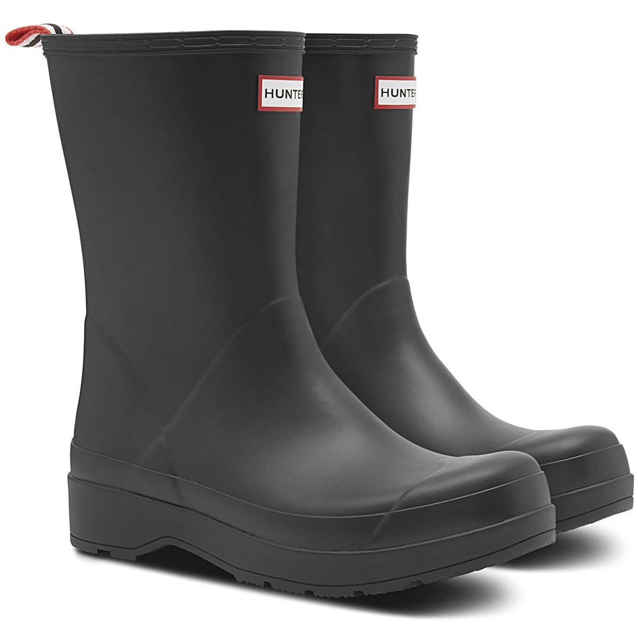 Hunter Mens Original Play Short Wellington Boots