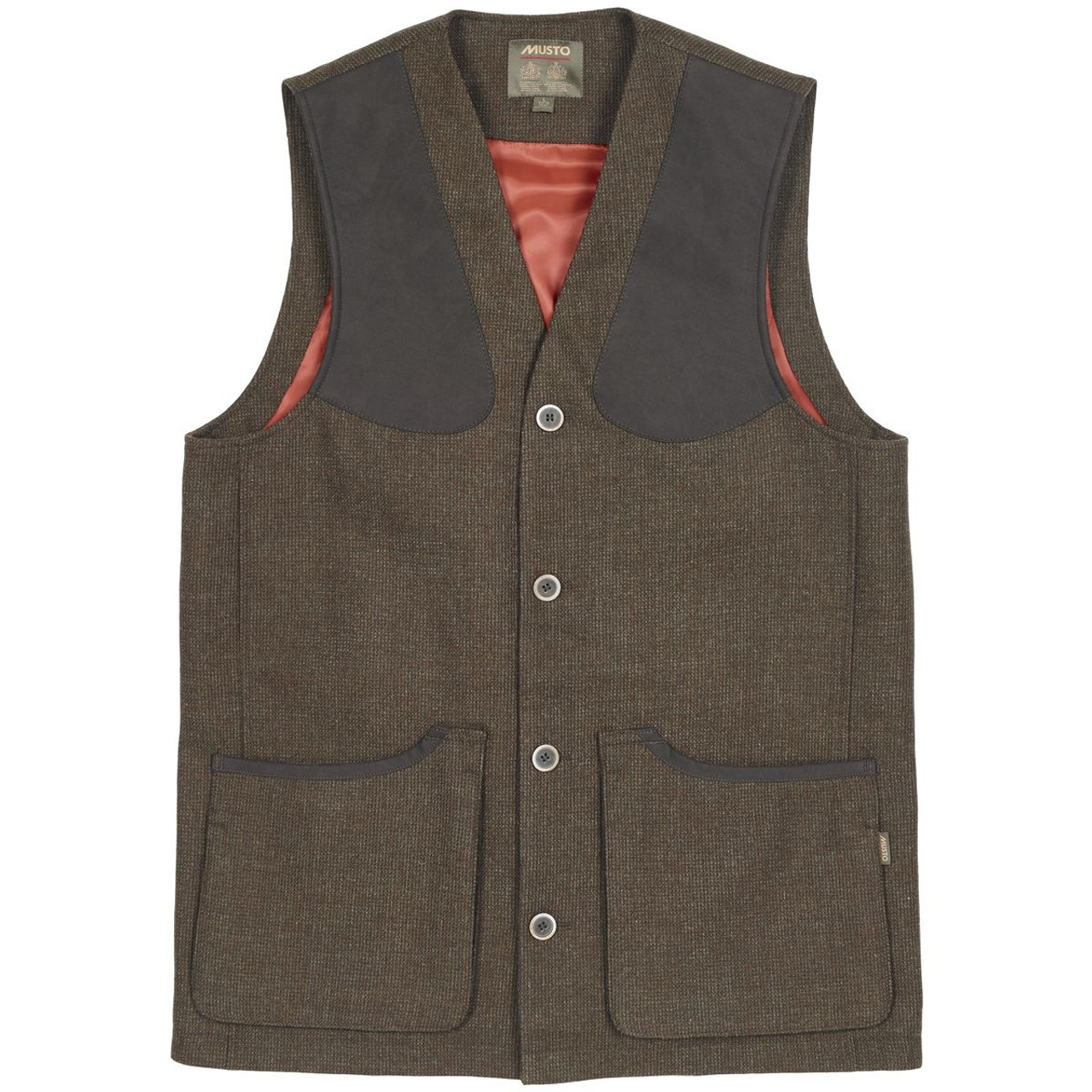 Musto Stretch Technical Tweed Waistcoat - Thornbury