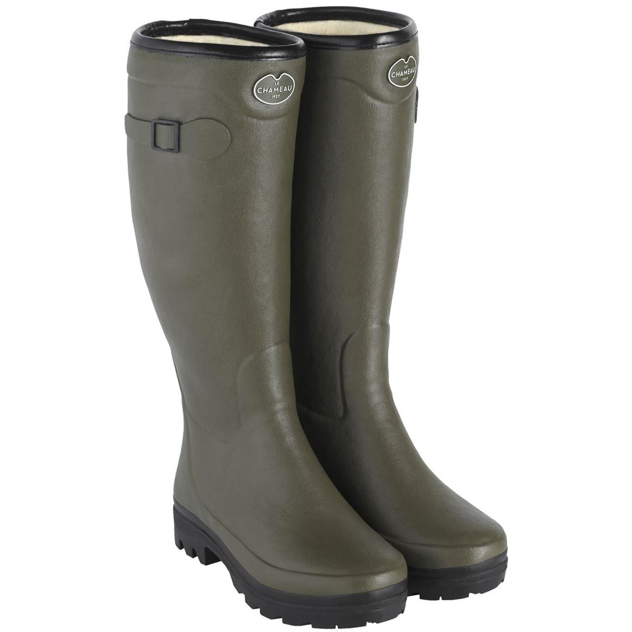 Le Chameau Country Lady Fouree Wellington Boots