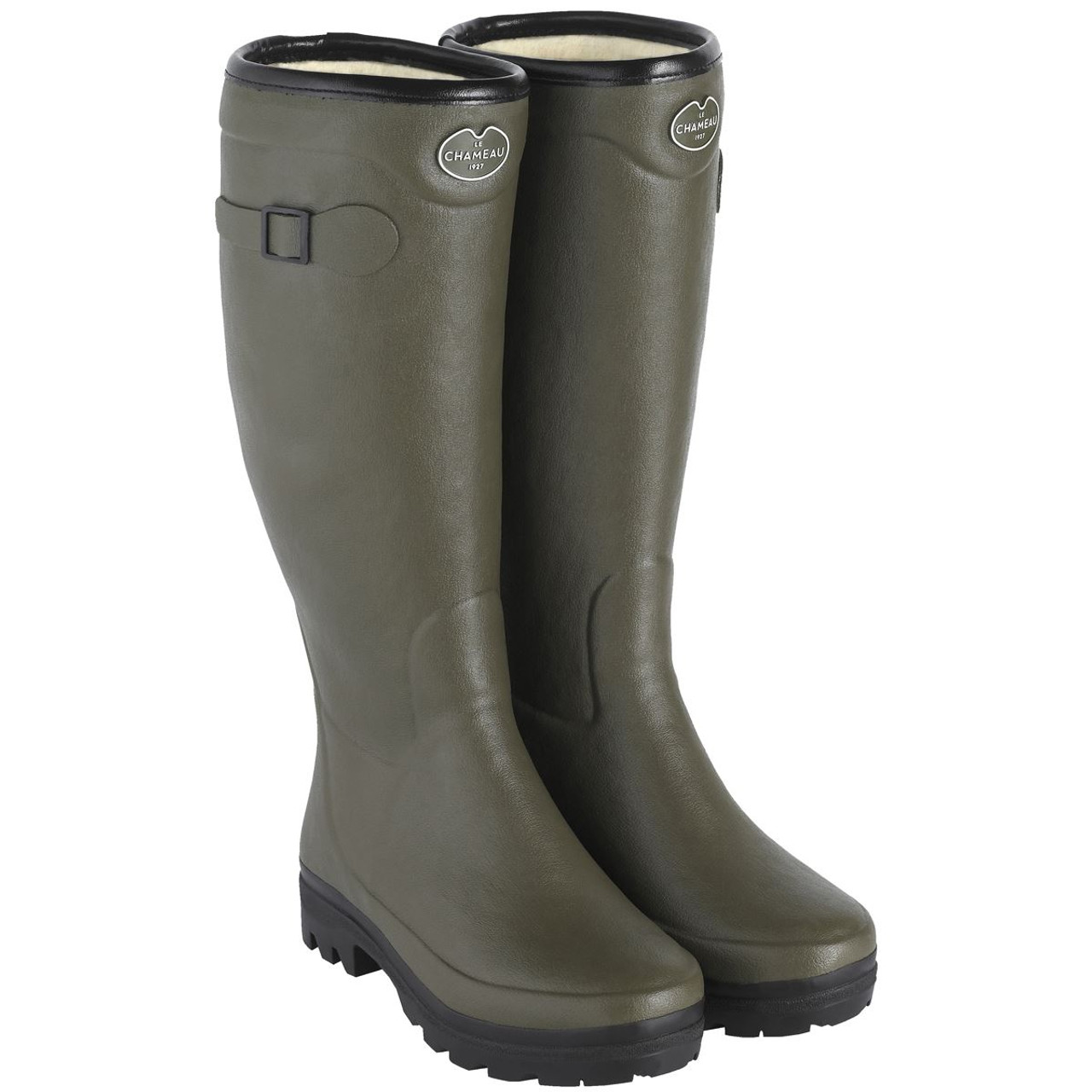 Le Chameau Country Lady Fouree Wellington Boots