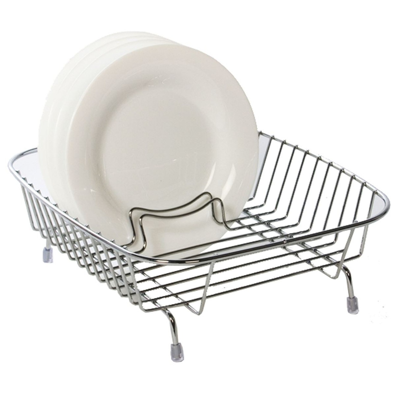 Delfinware Compact Dish Drainer Stainless Steel