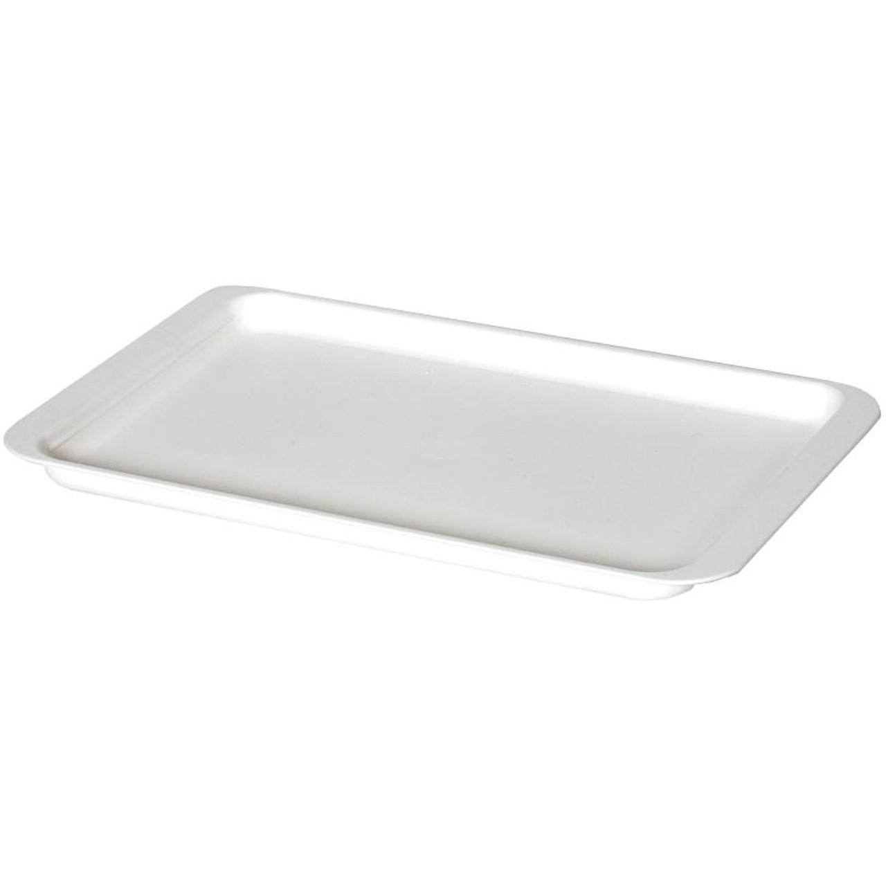 Delfinware Plastic Tray in White