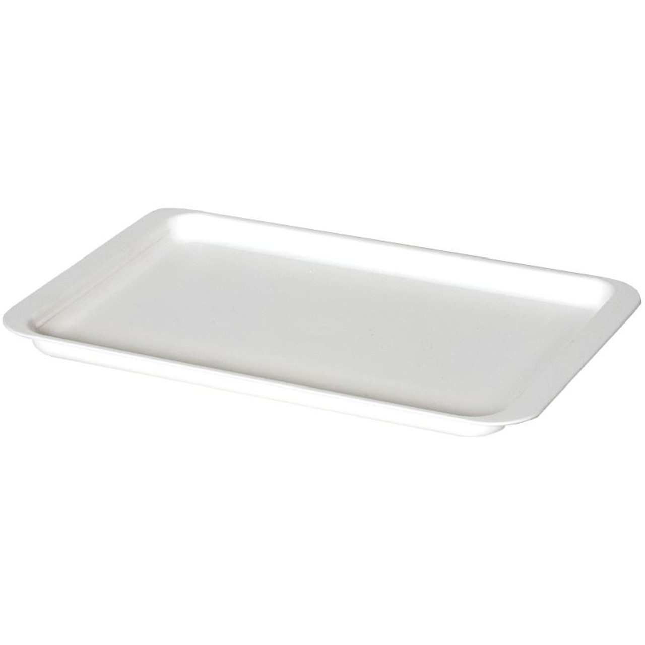 Delfinware Plastic Tray in White
