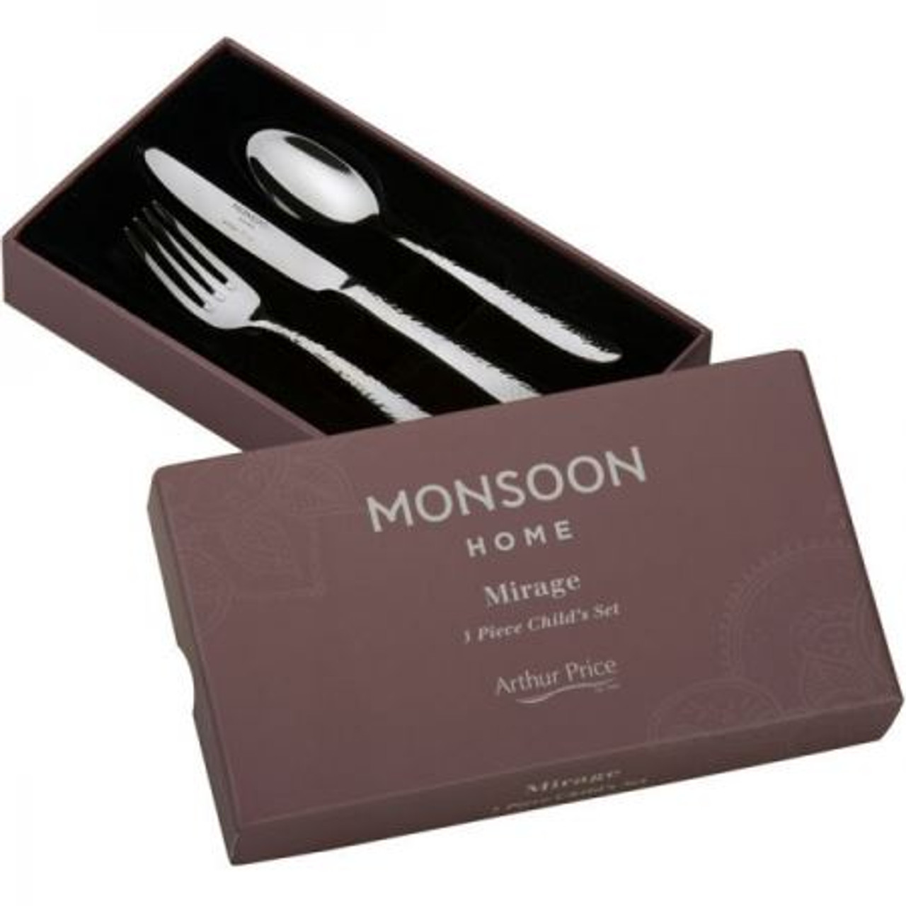 Arthur Price Monsoon Mirage Childs Cutlery Set