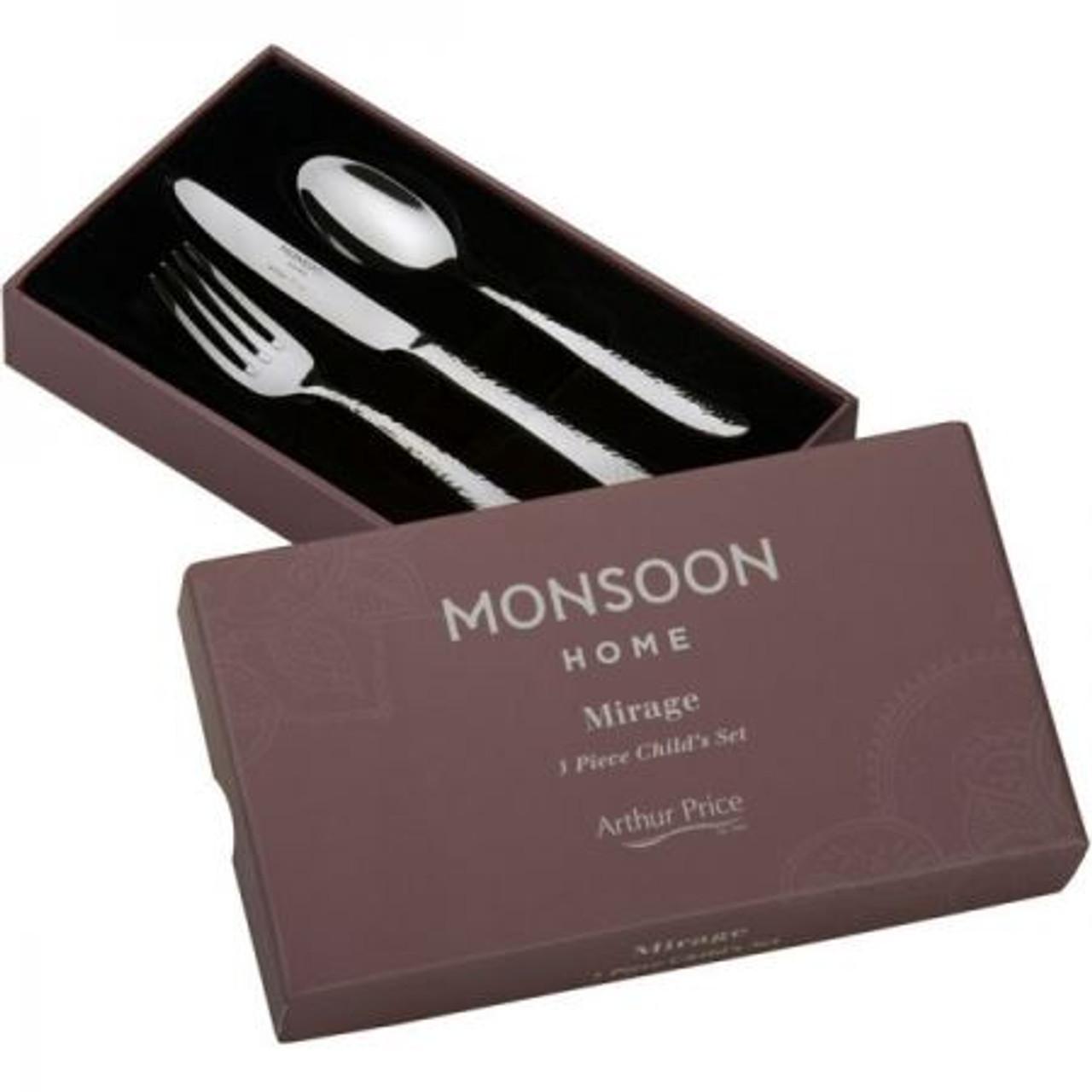 Arthur Price Monsoon Mirage Childs Cutlery Set