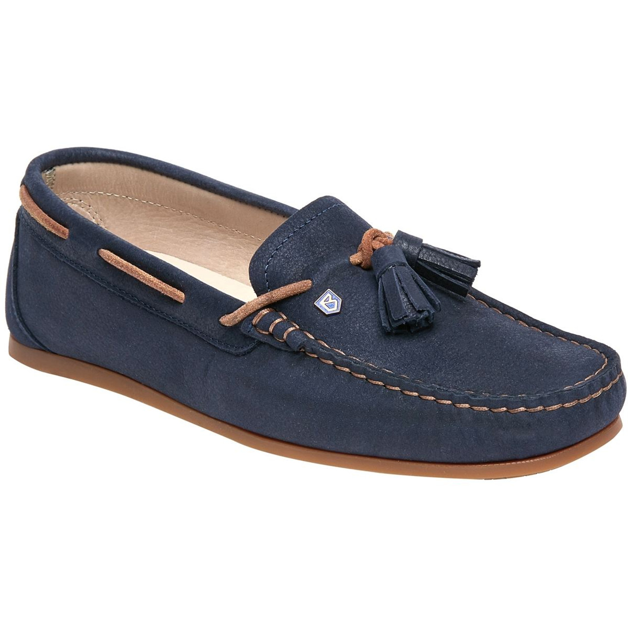 Dubarry Jamaica Loafers in Navy