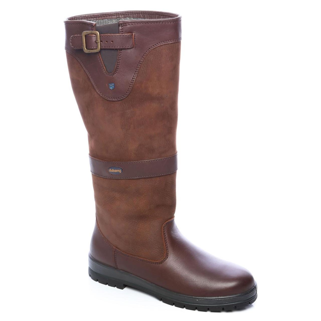 Dubarry Tipperary Boots in Walnut