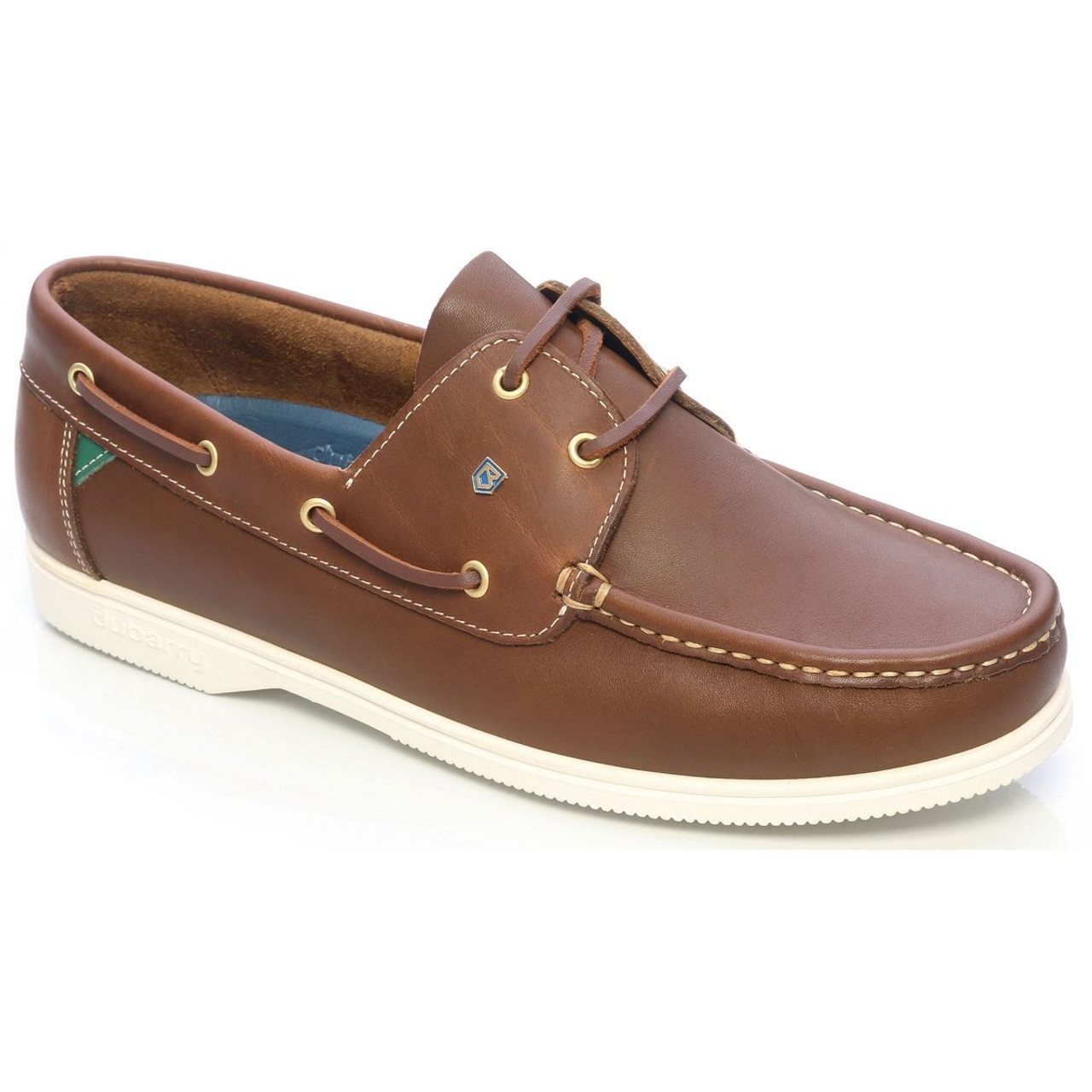 Dubarry Admirals Deck Shoe in Brown