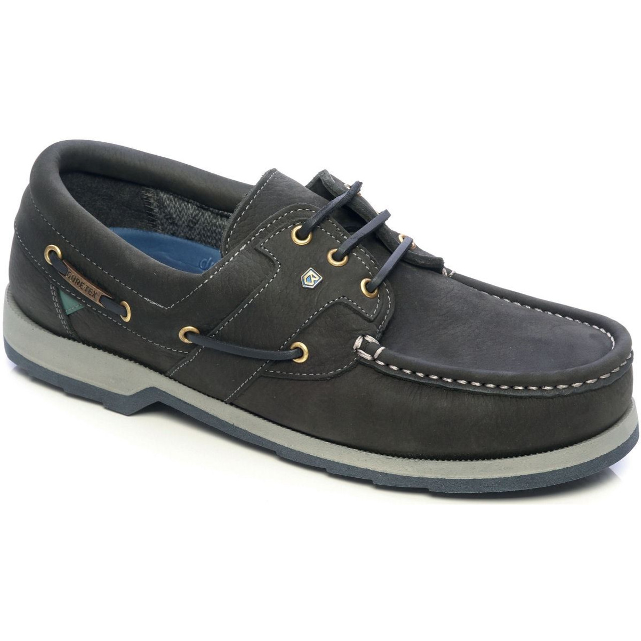 Dubarry Clipper Gore Tex Deck Shoes in Navy