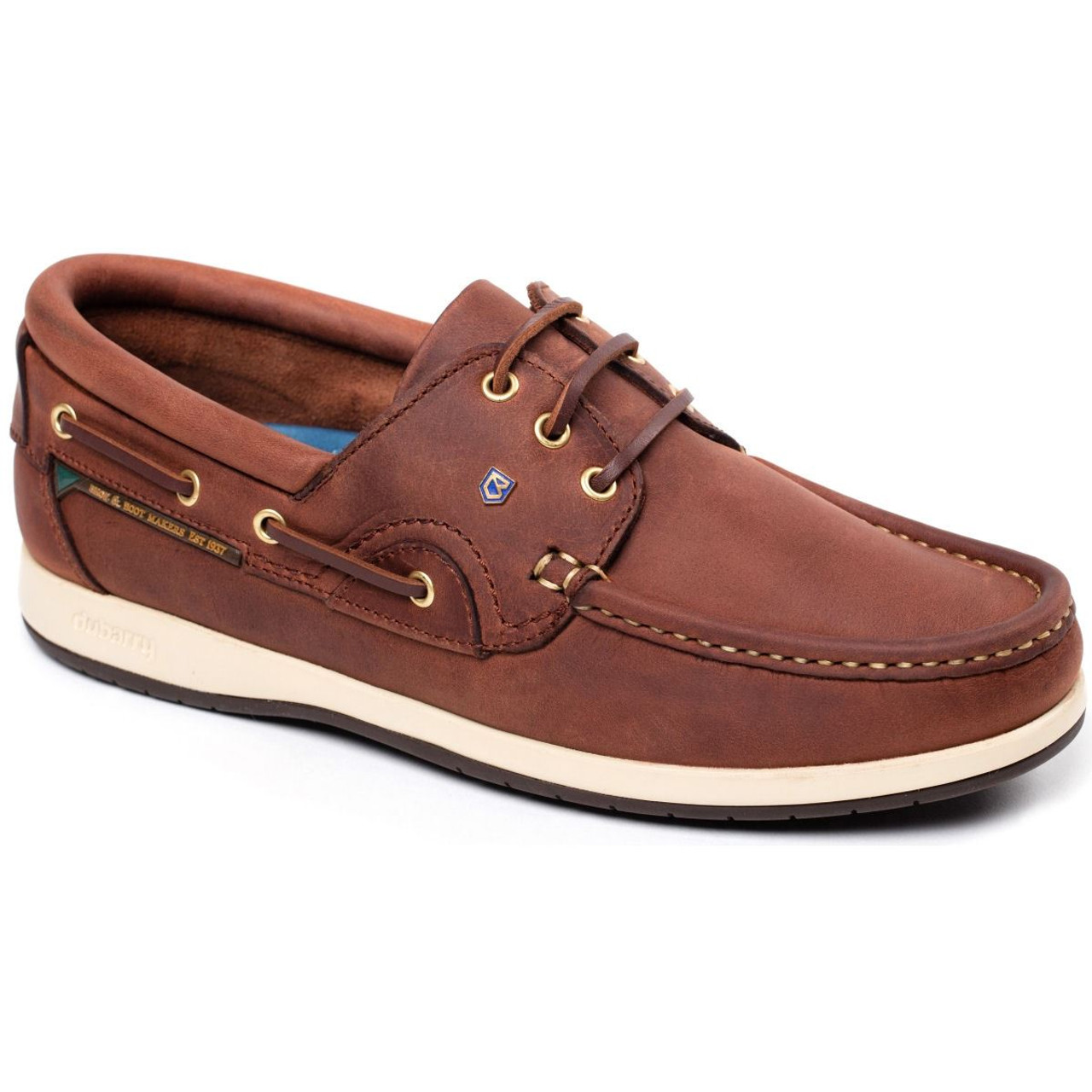 Dubarry Commodore X LT Deck Shoes in Chestnut