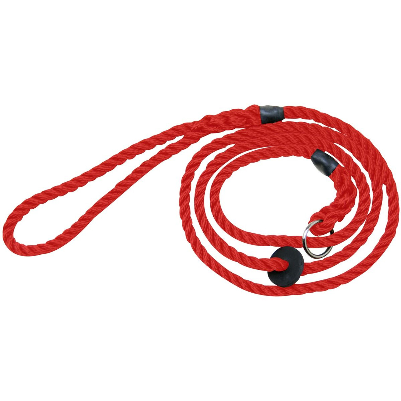 Bisley Deluxe Slip Dog Lead In Red