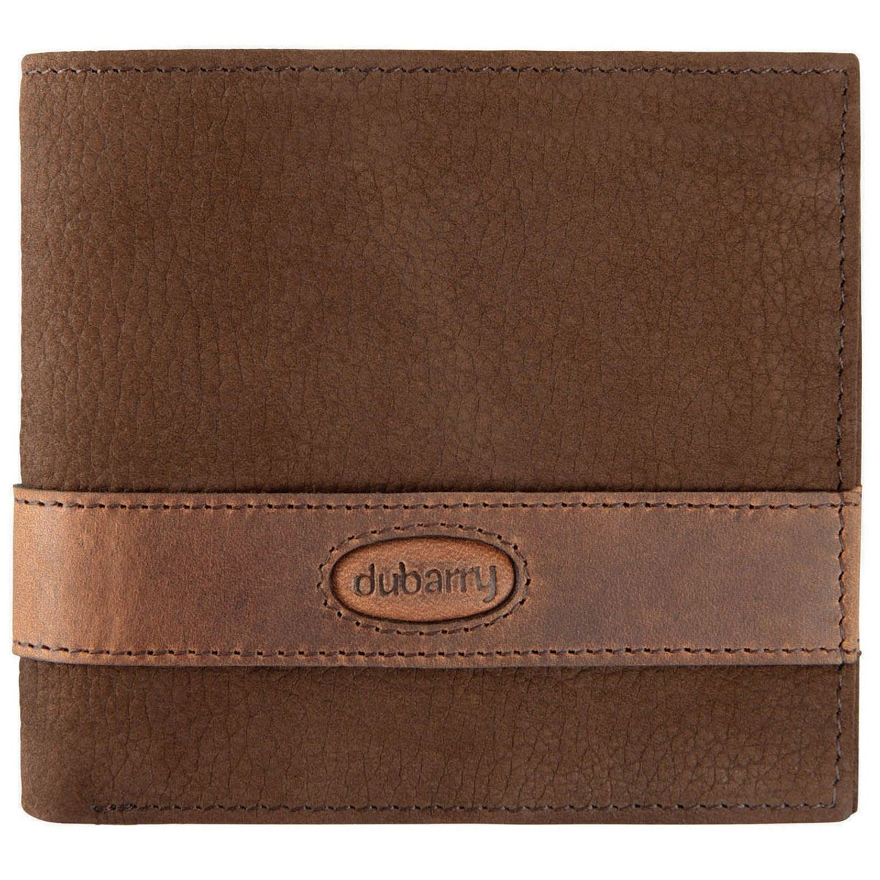 Dubarry Grafton Mens Leather Wallet in Walnut