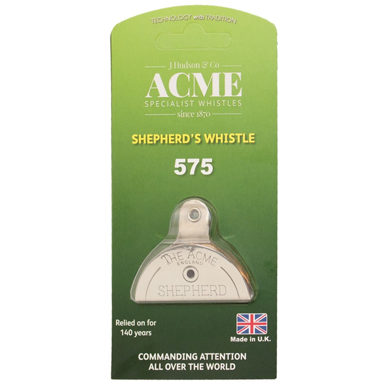 Acme Nickel Shepherds Mouth Whistle