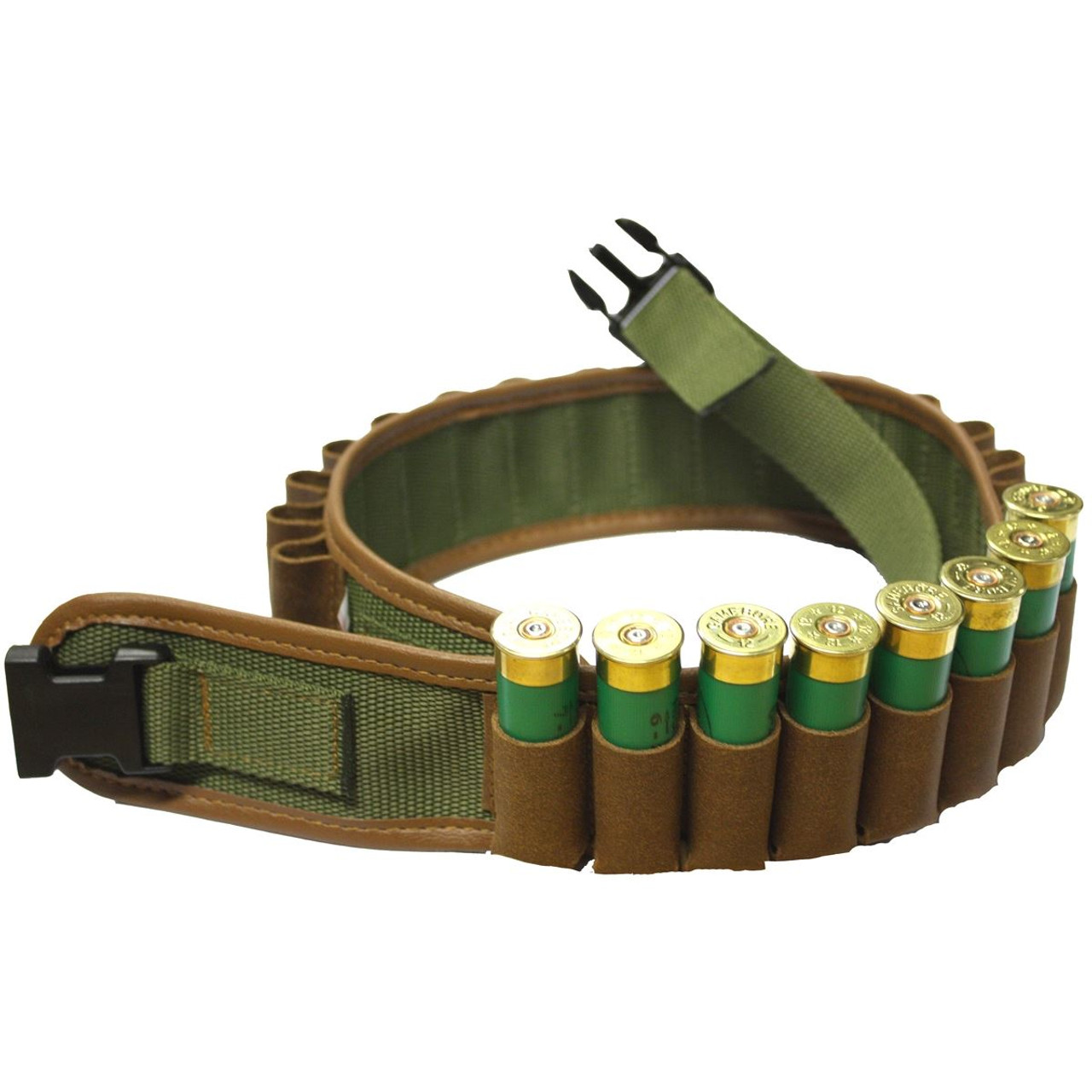 Bisley Leather On Webbing Cartridge Belt