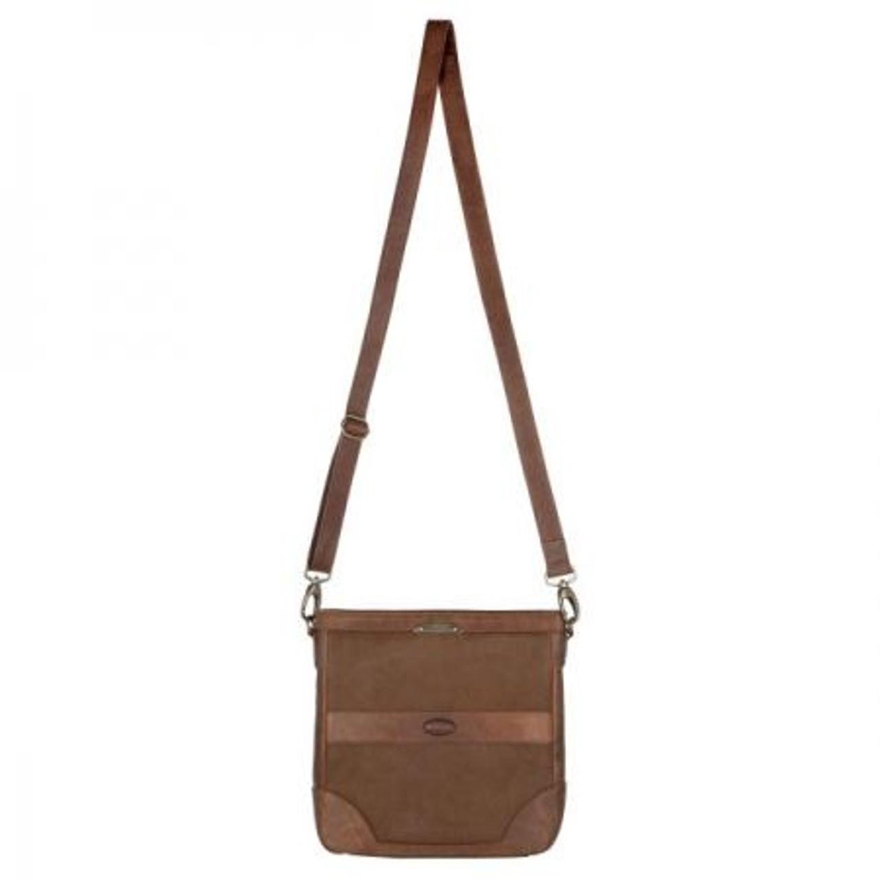 Dubarry Ardmore Messenger Bag in Walnut