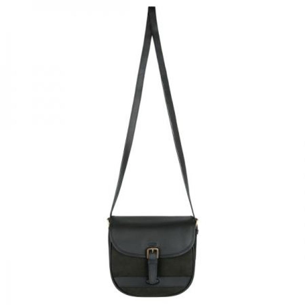 Dubarry Clara Large Saddle Style Bag in Black