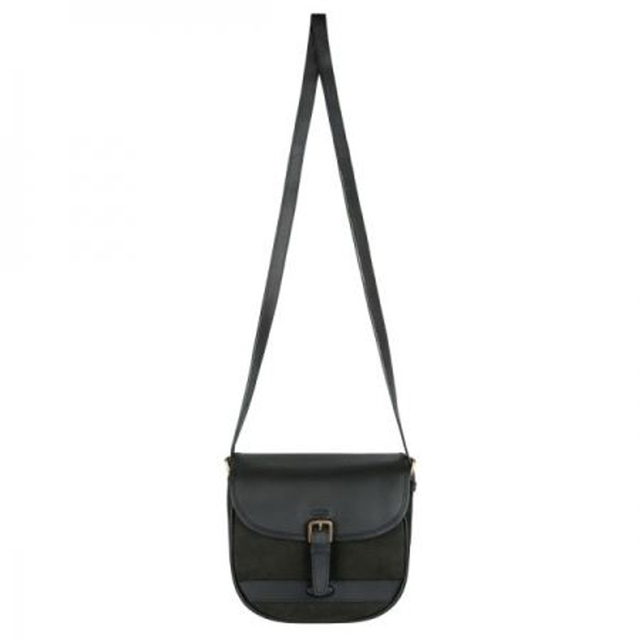 Dubarry Clara Large Saddle Style Bag in Black