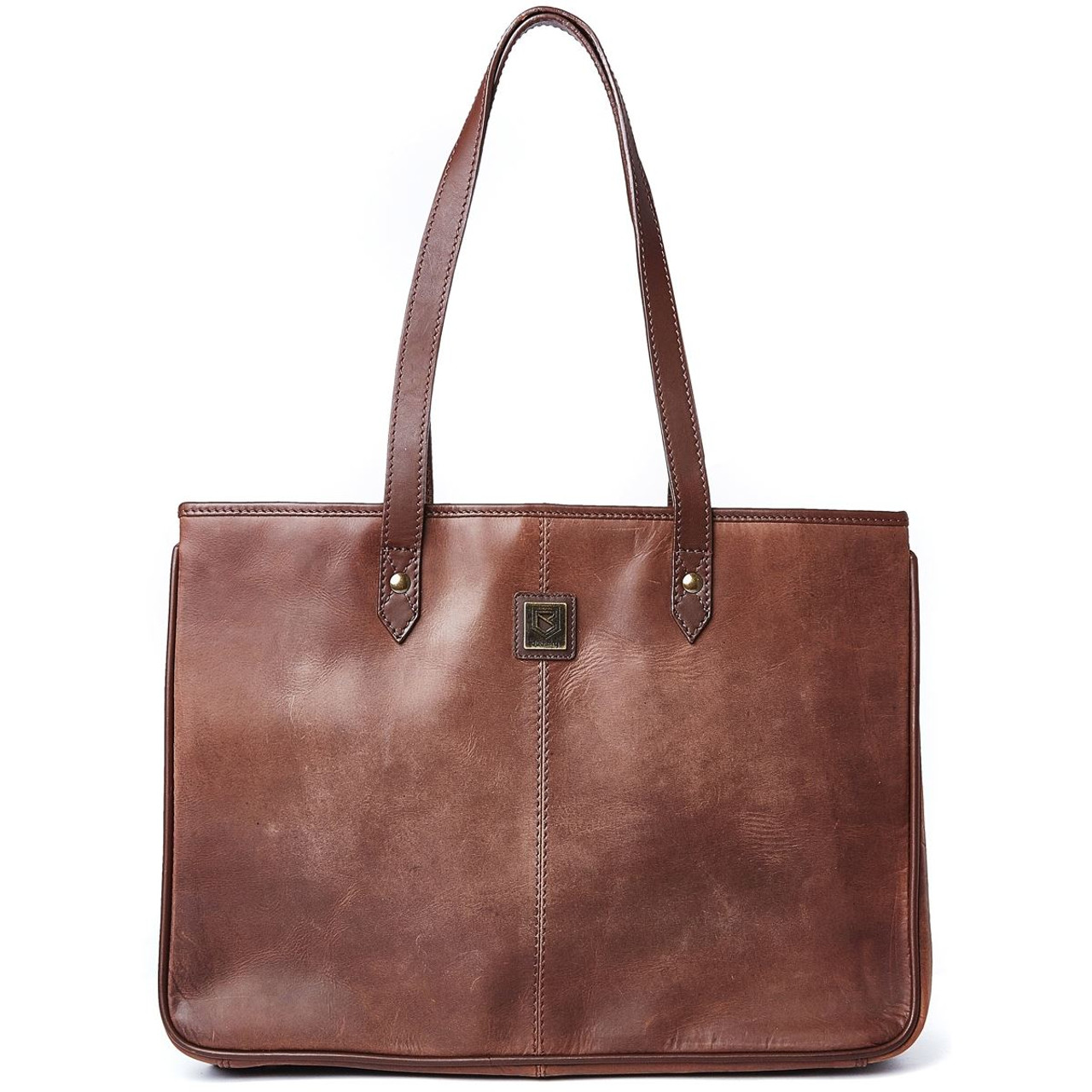Dubarry Loughrea Tote Bag in Old Rum