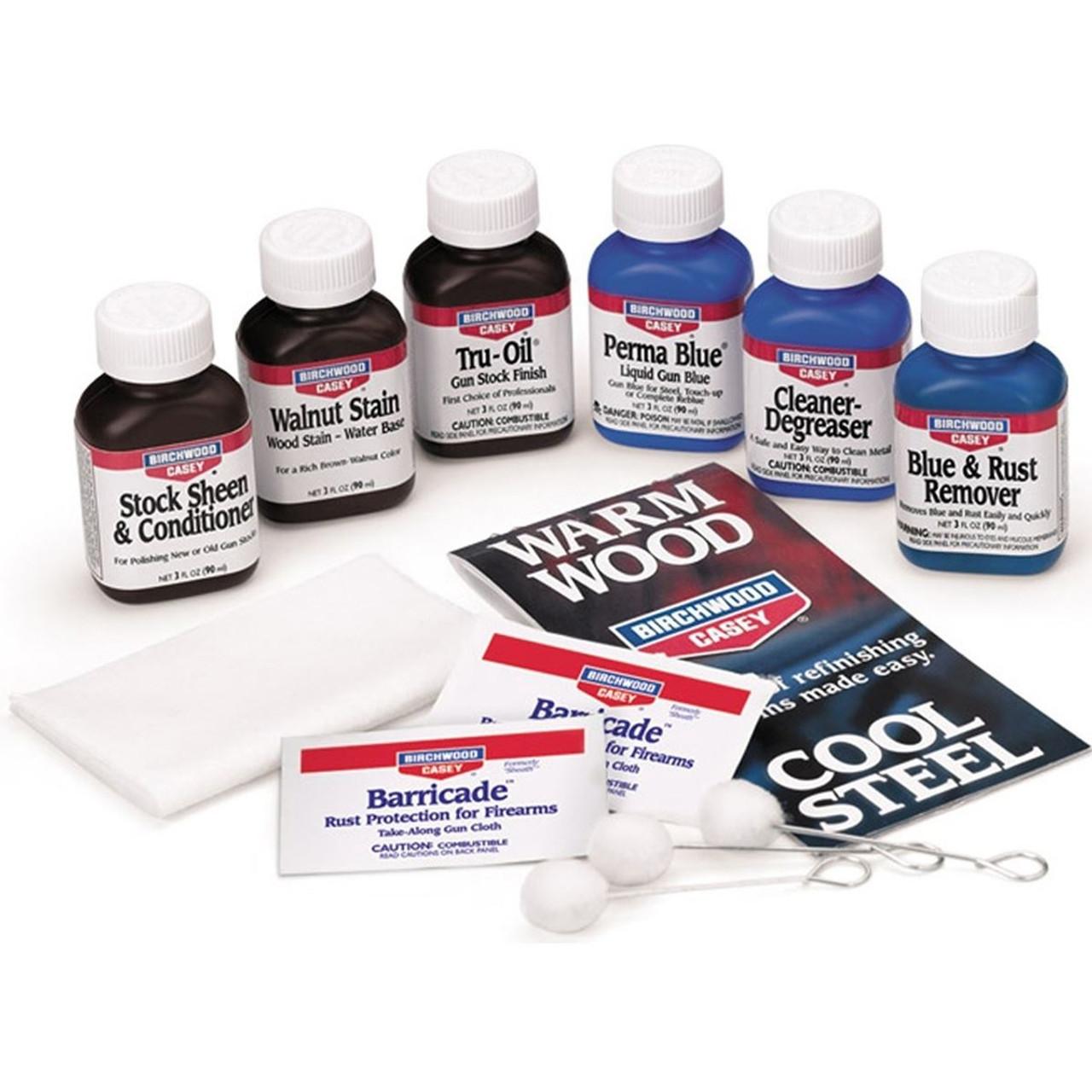 Birchwood Casey Perma Blue & Tru Oil Kit